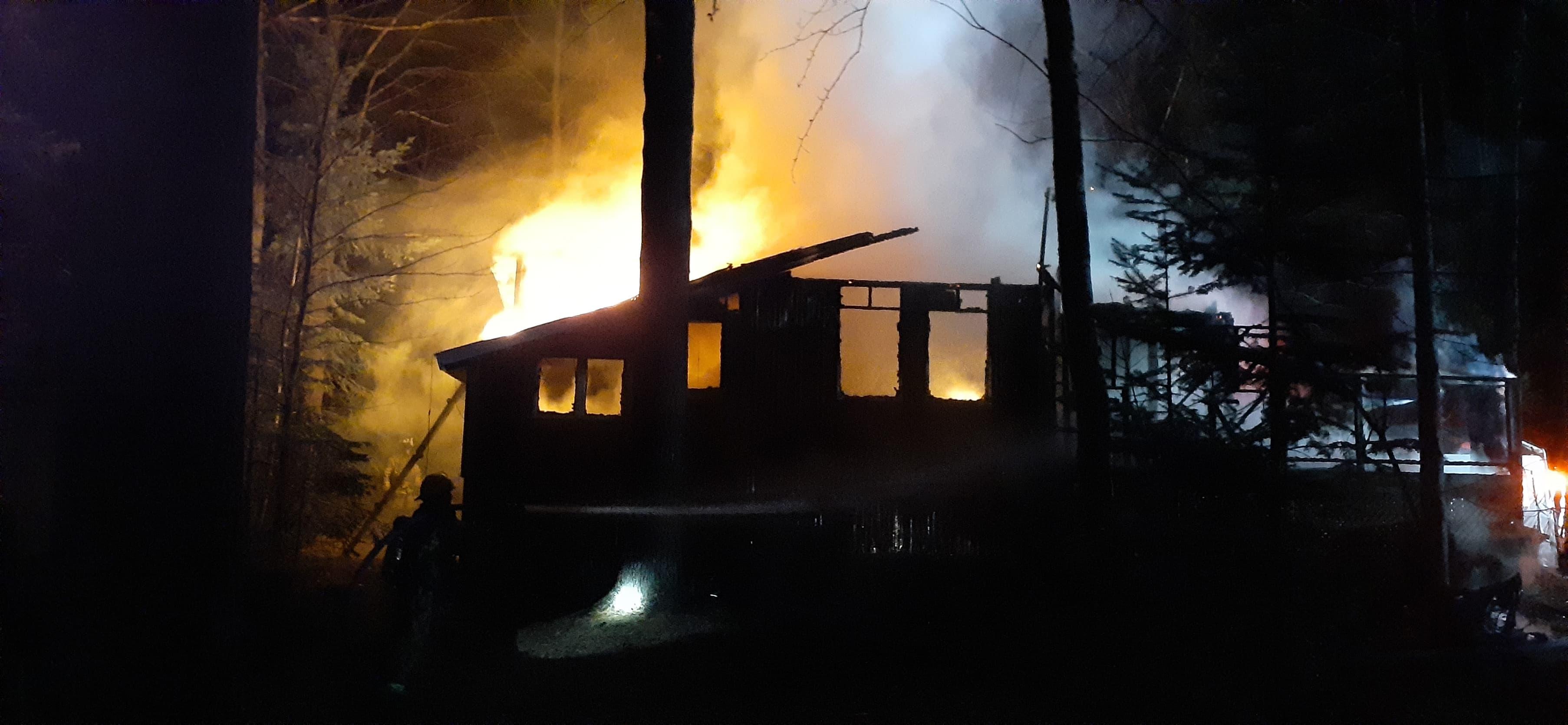 Incendie Rawdon