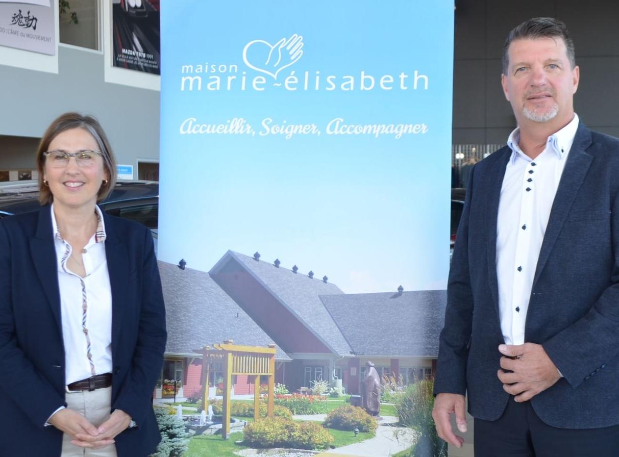 Paule Côté, Steeve Lemieux, Maison Marie-Élisabeth.