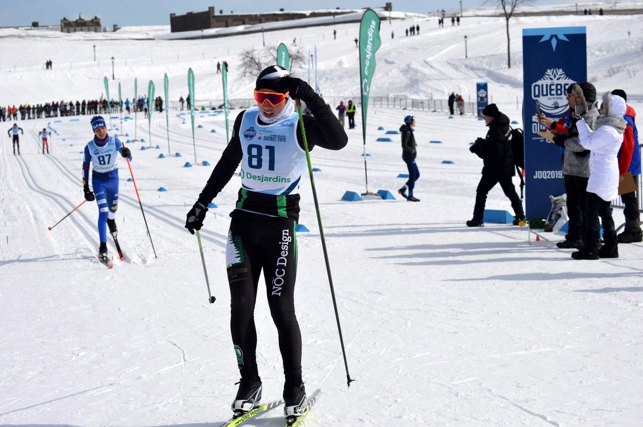 Solstice Lanoix - Ski de fond Jeux du Québec