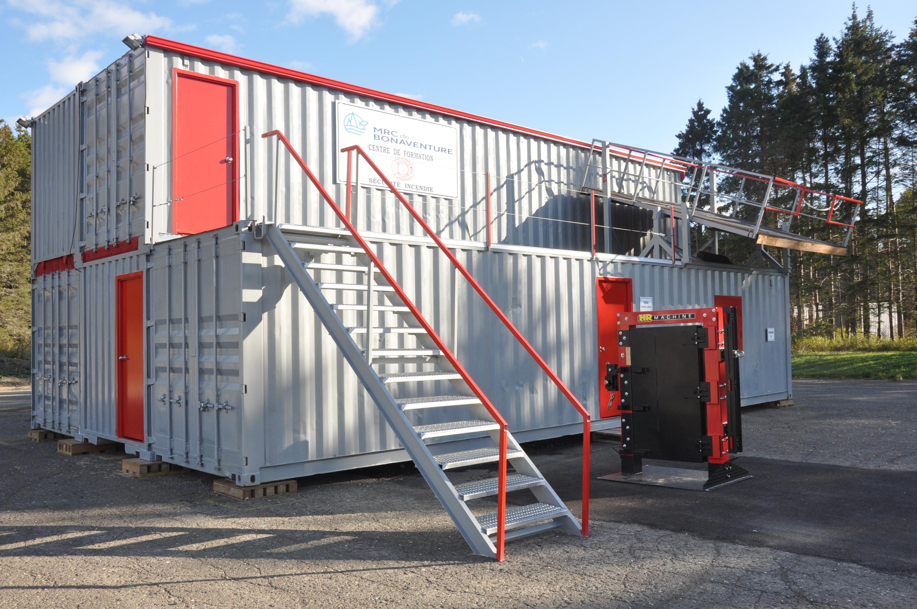 centre de formation pompiers New Richmond