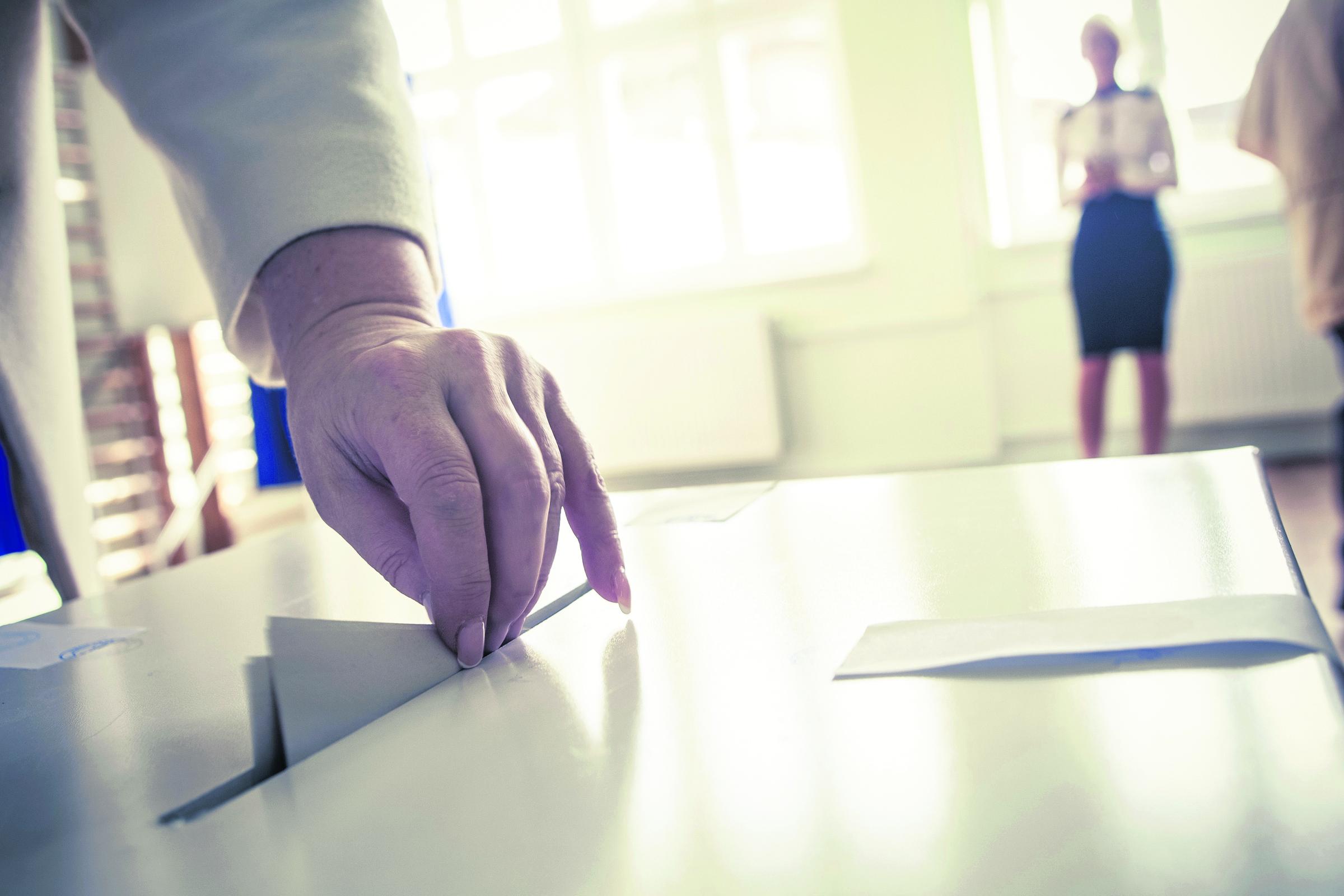 Élections, vote, politique.