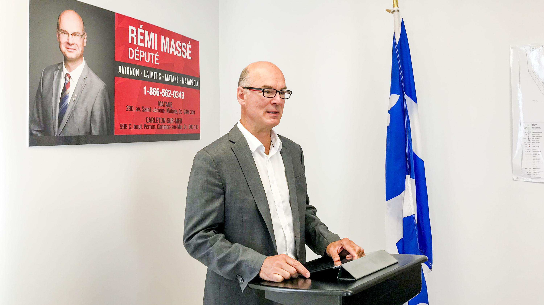 Rémi Massé député d'Avignon-La Mitis-Matane-Matapédia
