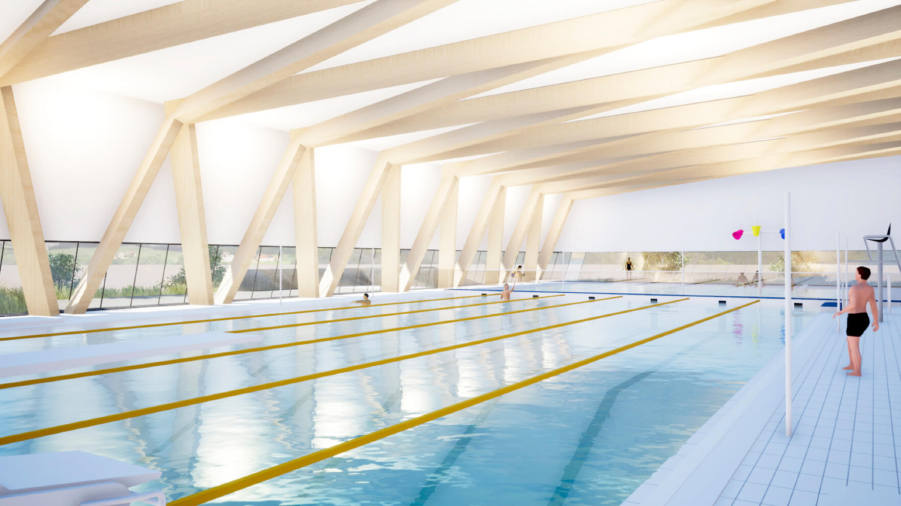 Complexe aquatique Matane piscine projet