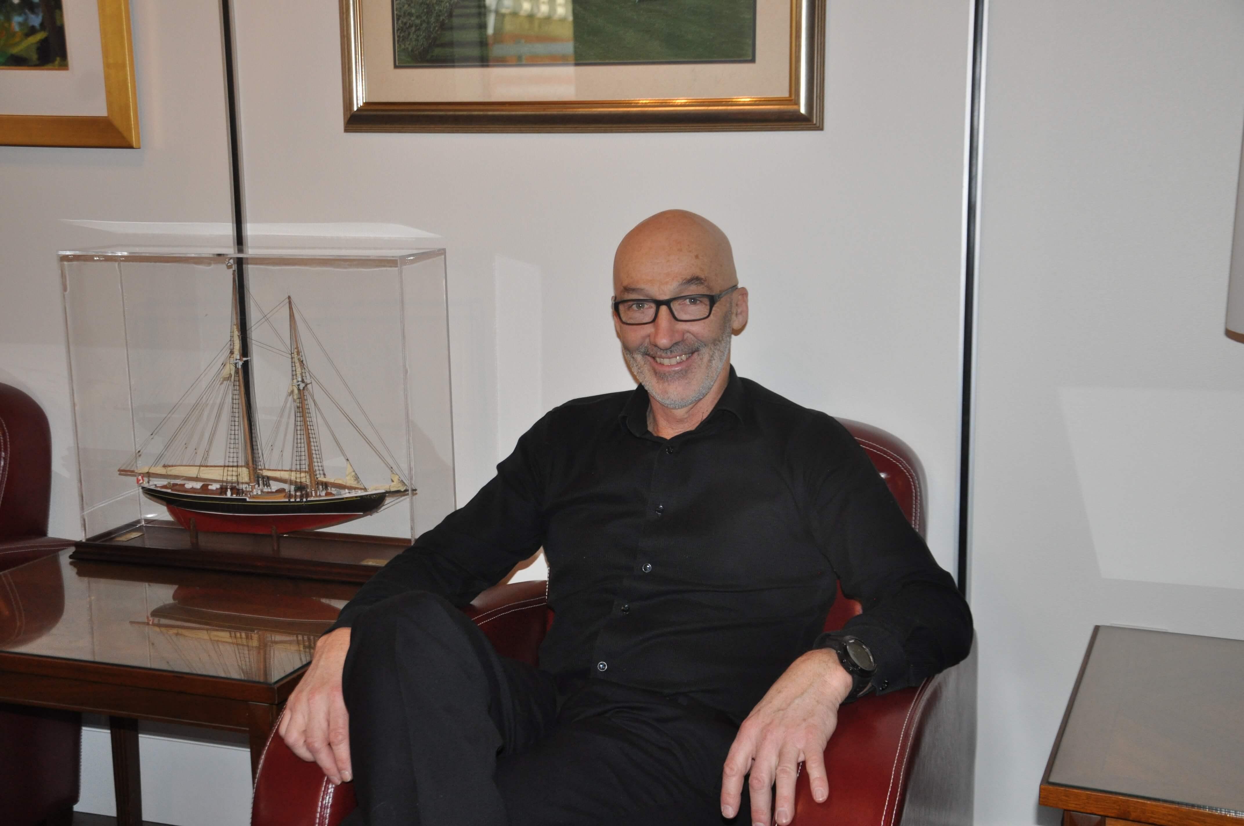 Marc Parent maire de Rimouski