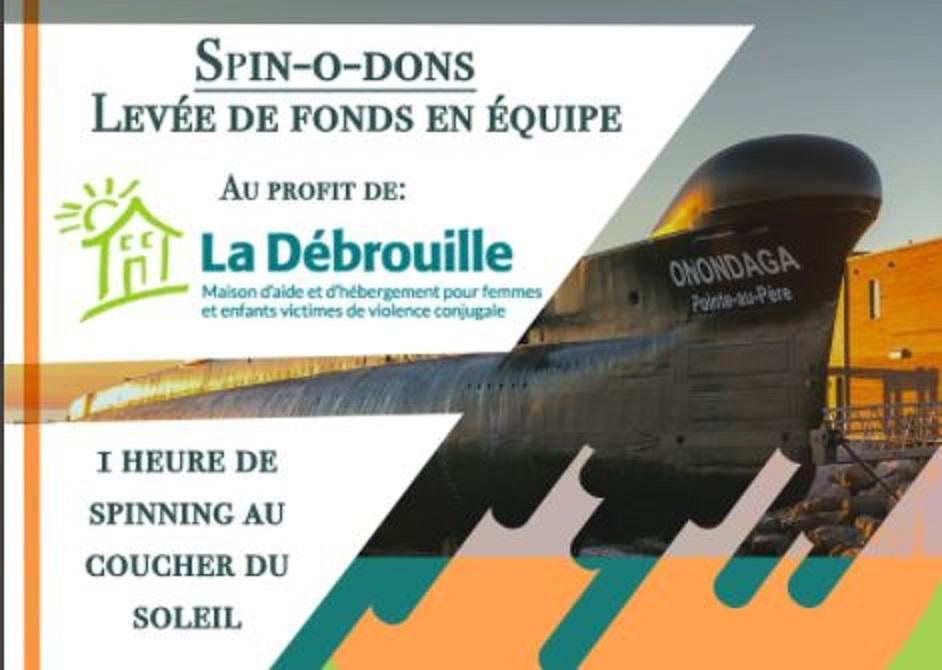 Spin-O-Dons présenté le dimanche 6 septembre