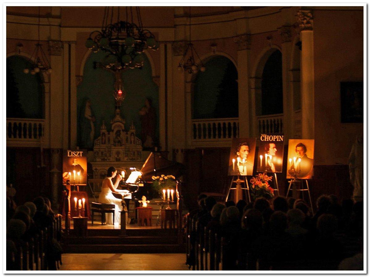 Chopin sous les chandelles