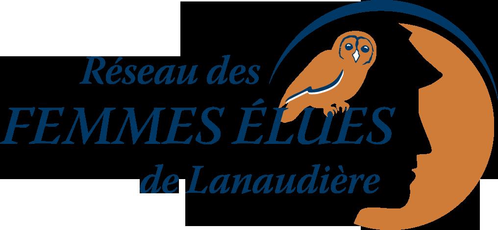 Logo R.seau des femmes élues de Lanaudière