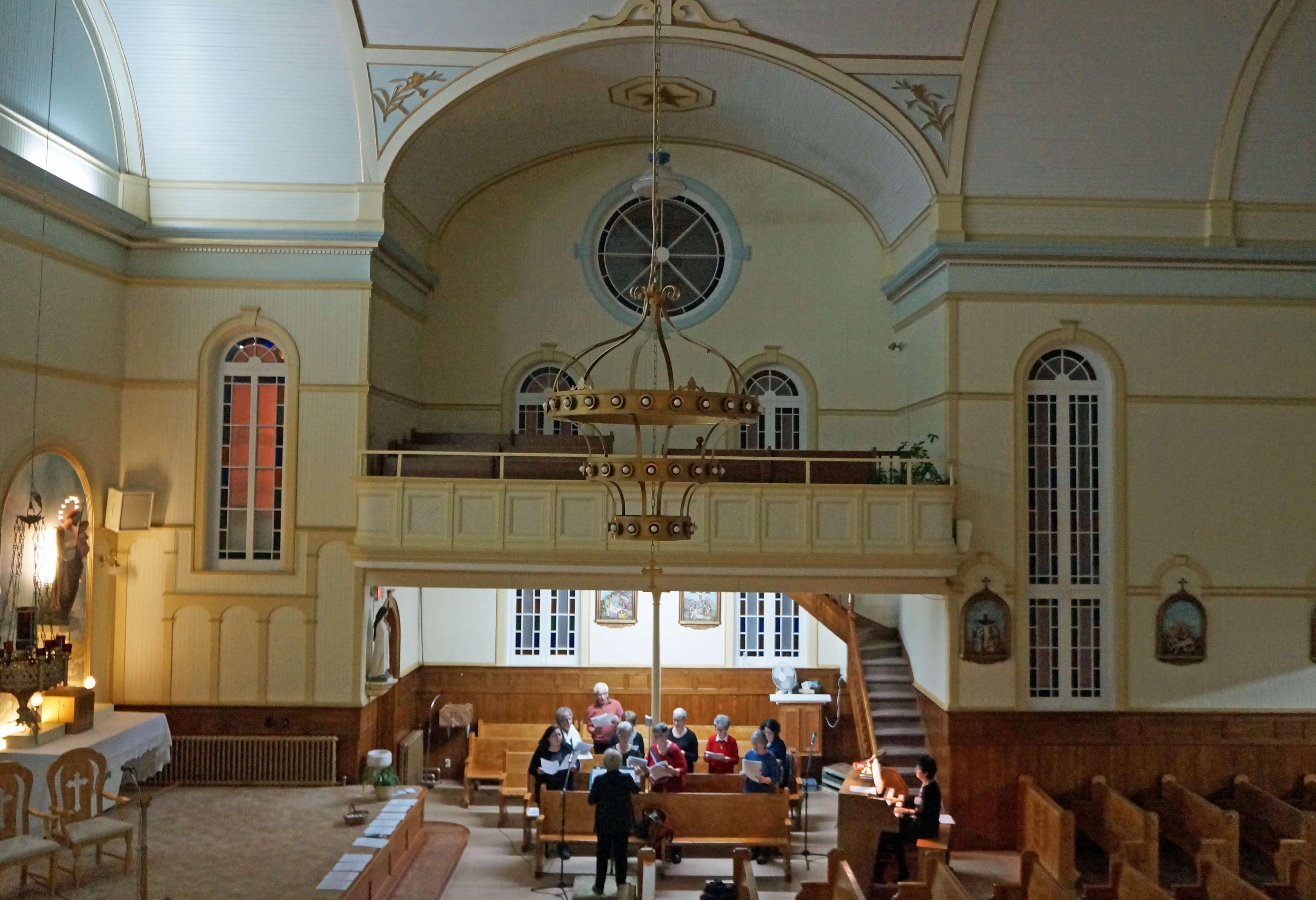 Chorale église
