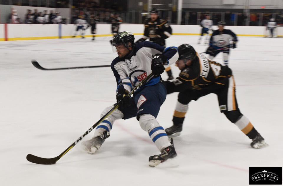 hockey senior - bar laser vs corsaires