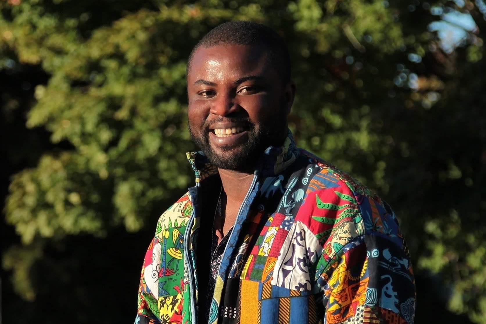 Lenine Nankassa Boucal est le porte-parole du Mois de l'histoire des noirs au Bas-Saint-Laurent.