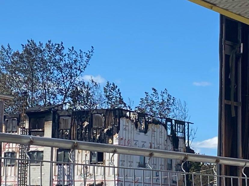 Incendie à Repentigny
