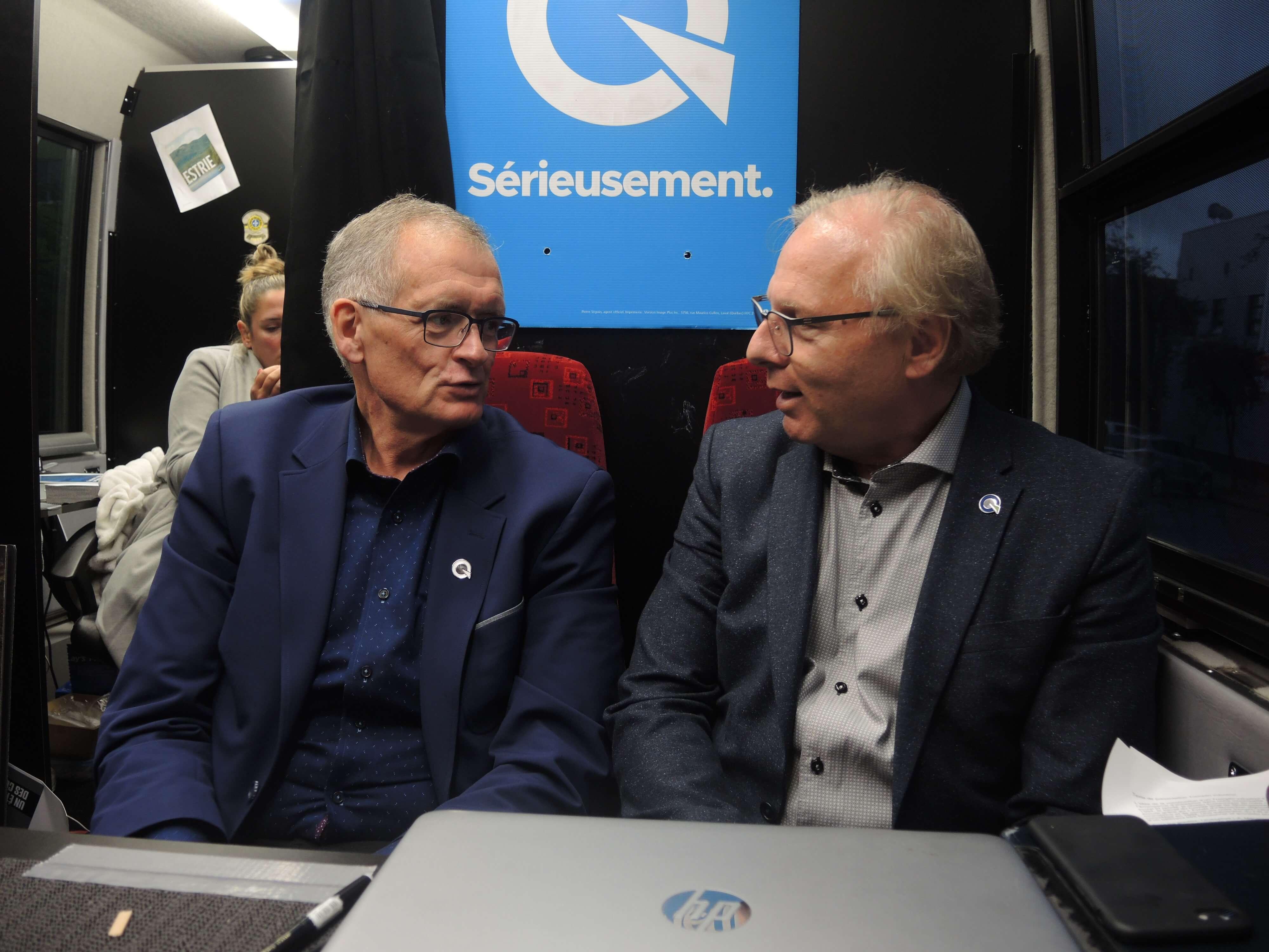 Gilles Chapadeau et Jean-Francois Lisse