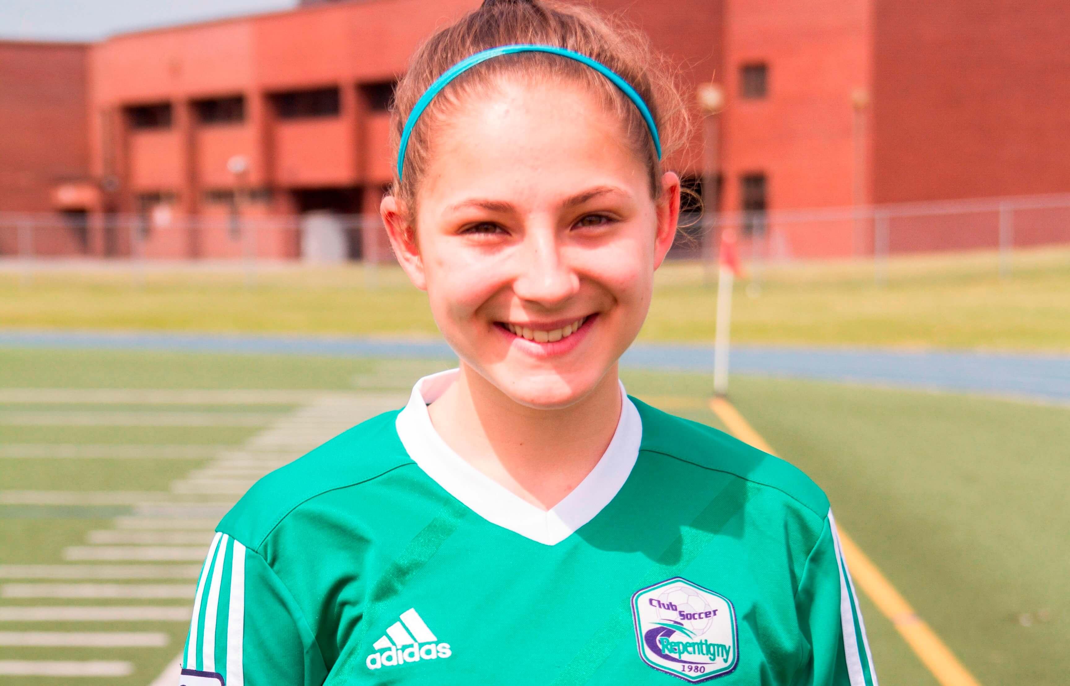 Amélie Beaudet-Gaudette sélectionnée sur Équipe Canada de soccer