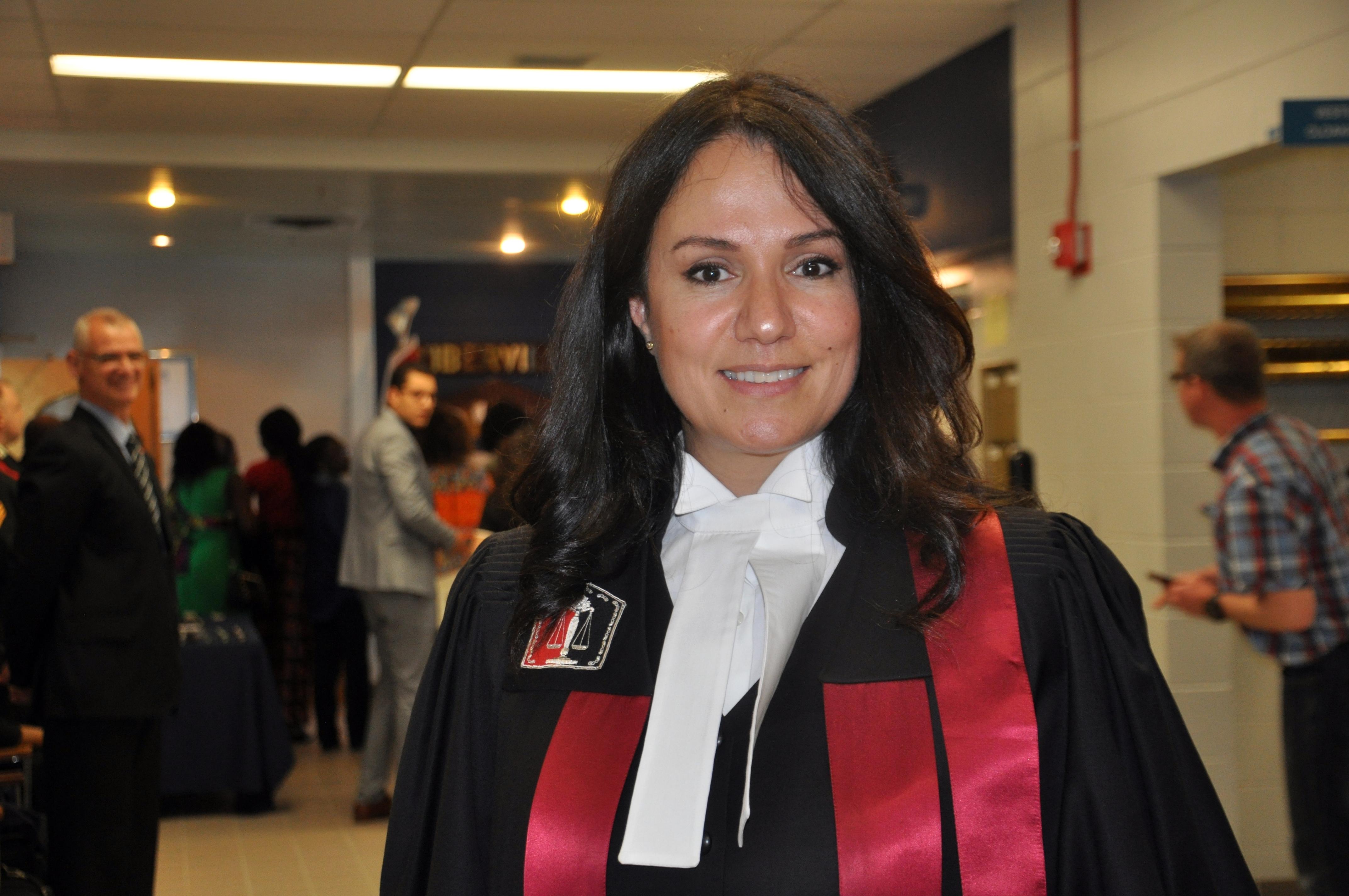 La juge de la citoyenneté, Rania Sfeir.