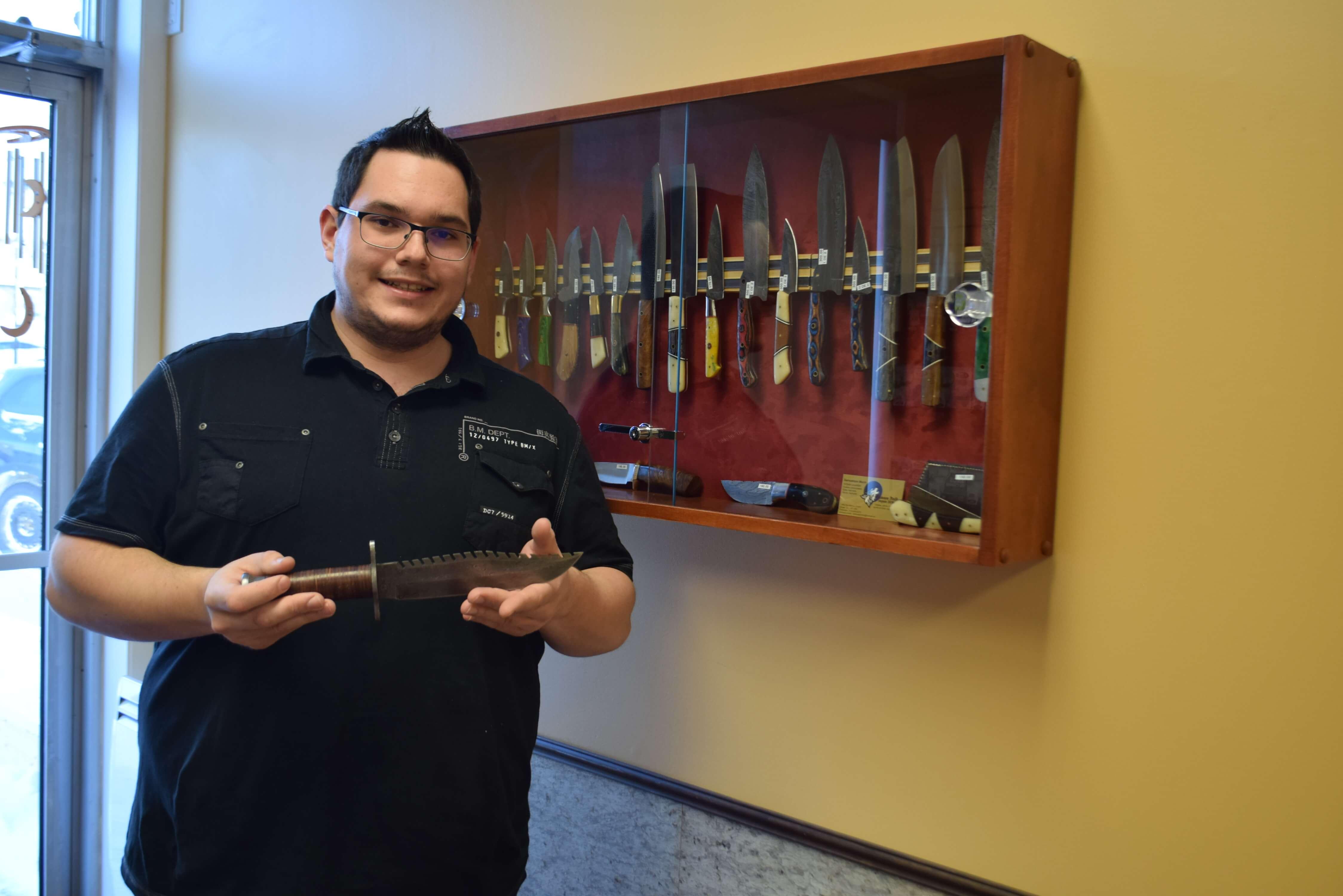 Samuelson Morin Samson Knife