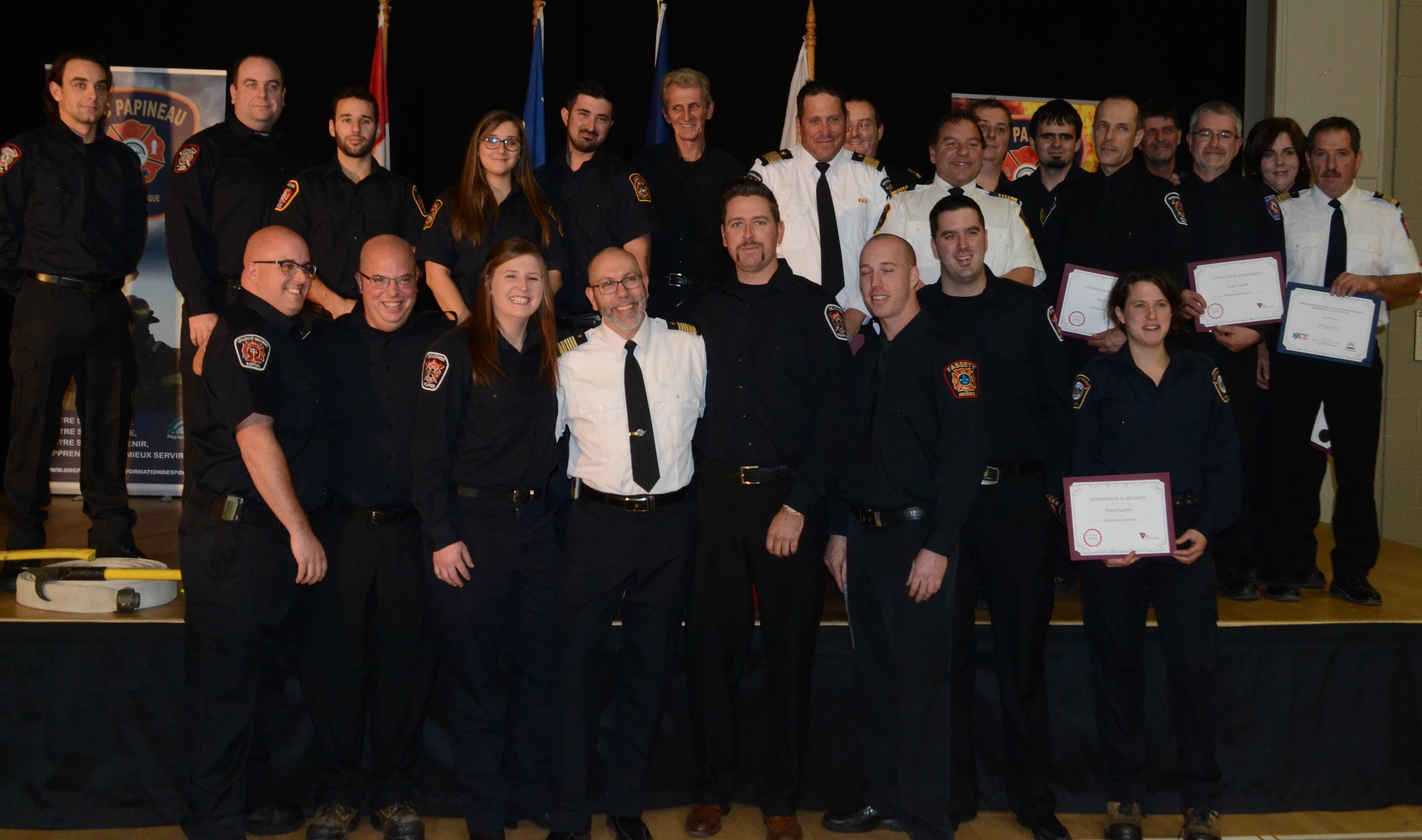 Pompiers MRC Papineau