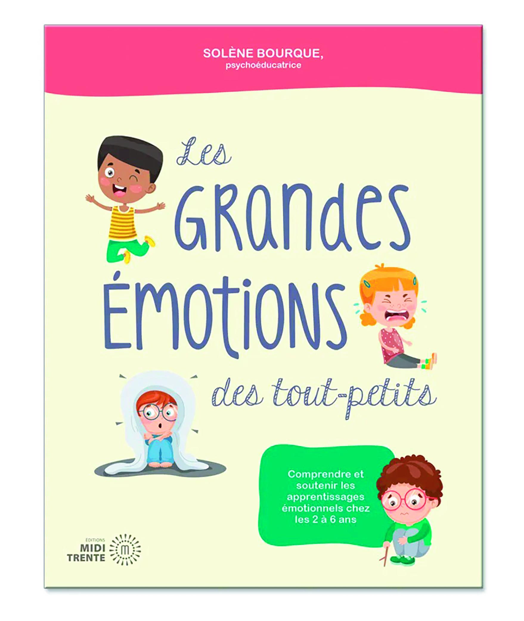 Livre Les grandes émotions