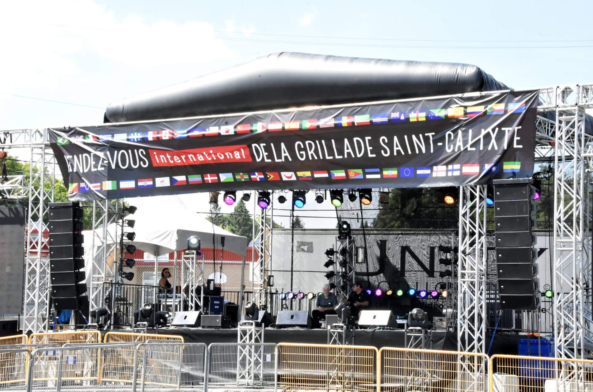 festival de la grillade à Saint-Calixte