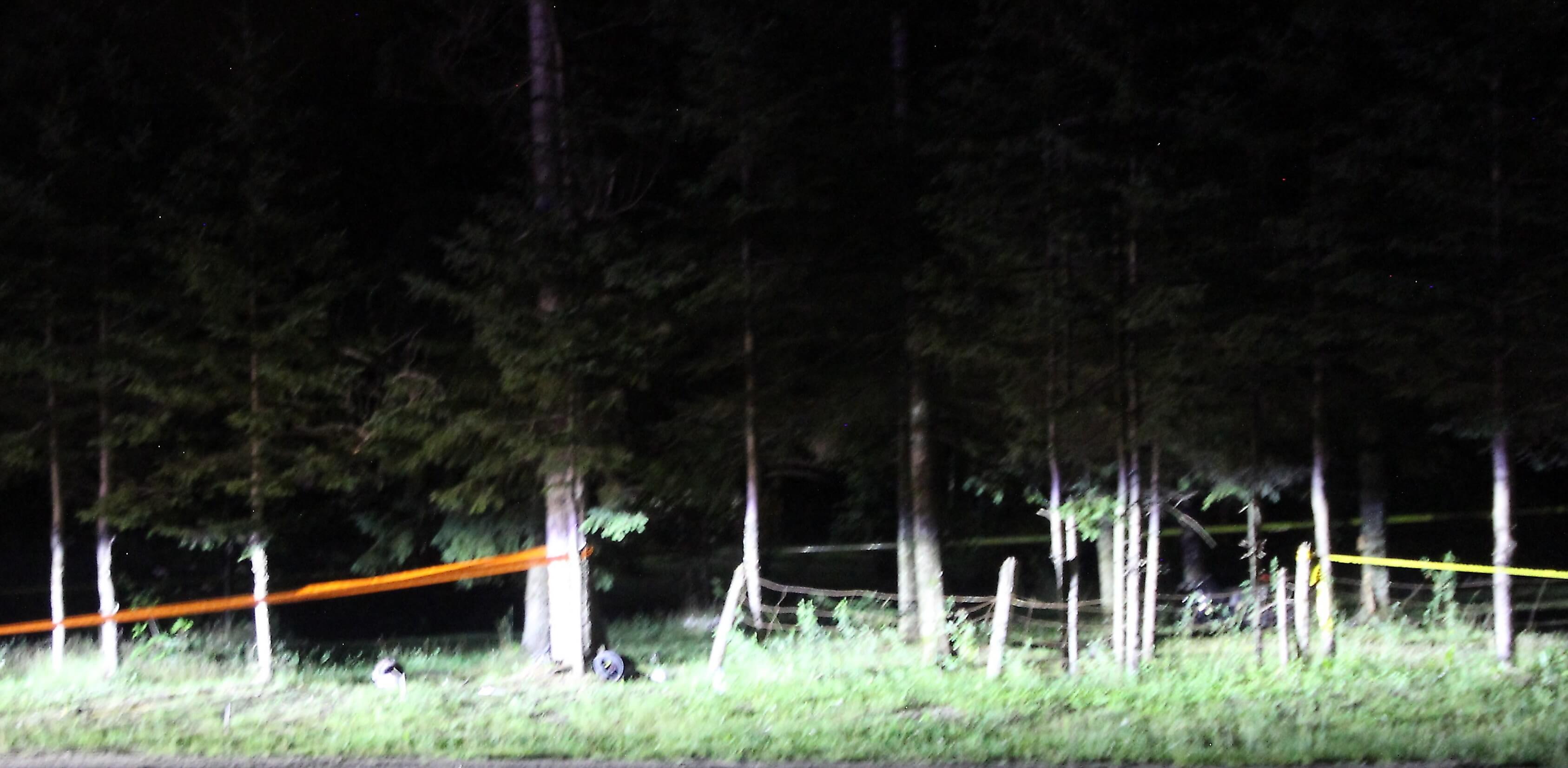 Deux jeunes adultes sont décédés dans une collision à moto le 5 août 2018, à Saint-Côme.