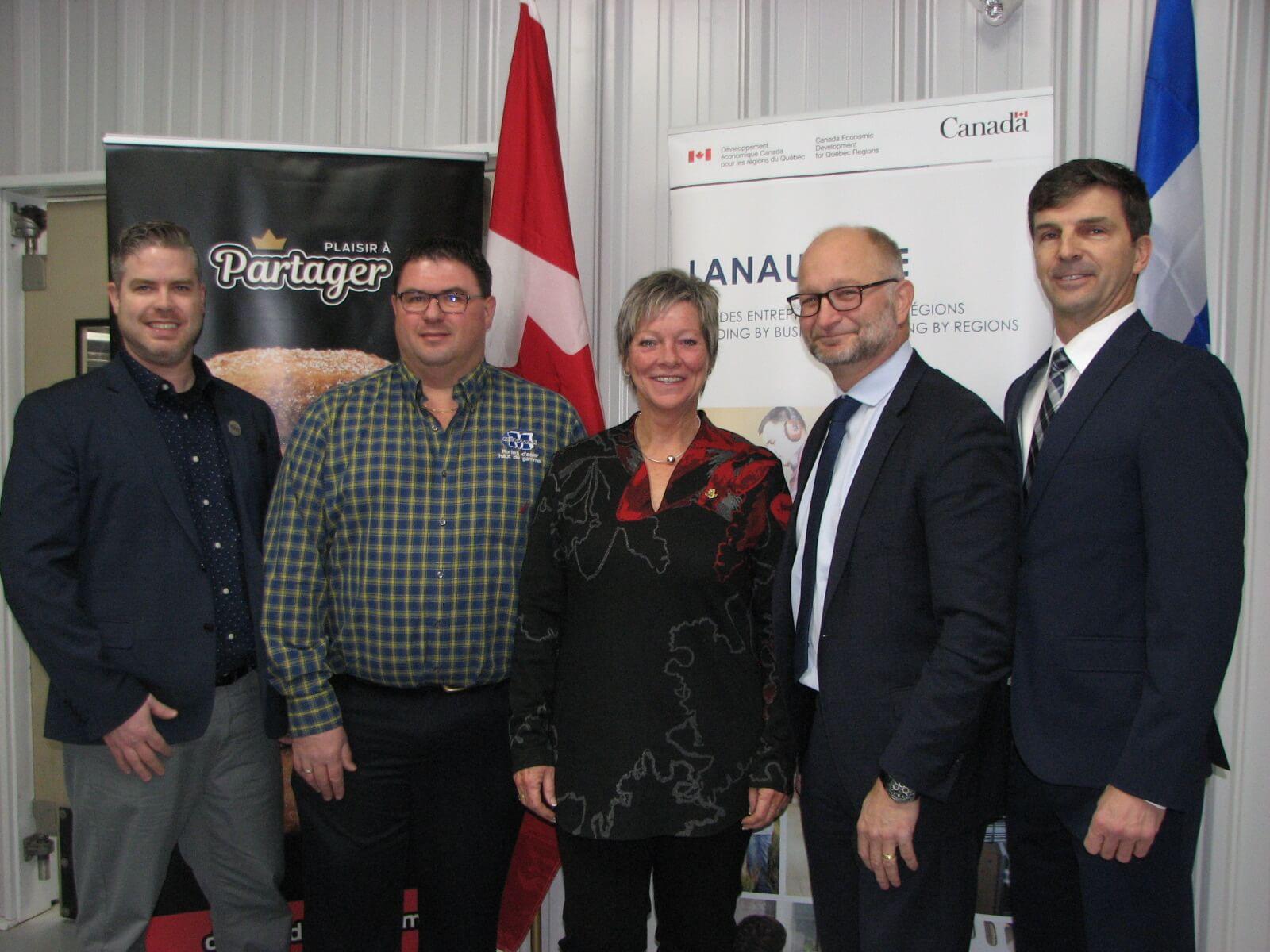 aide d'Ottawa à trois entreprises
