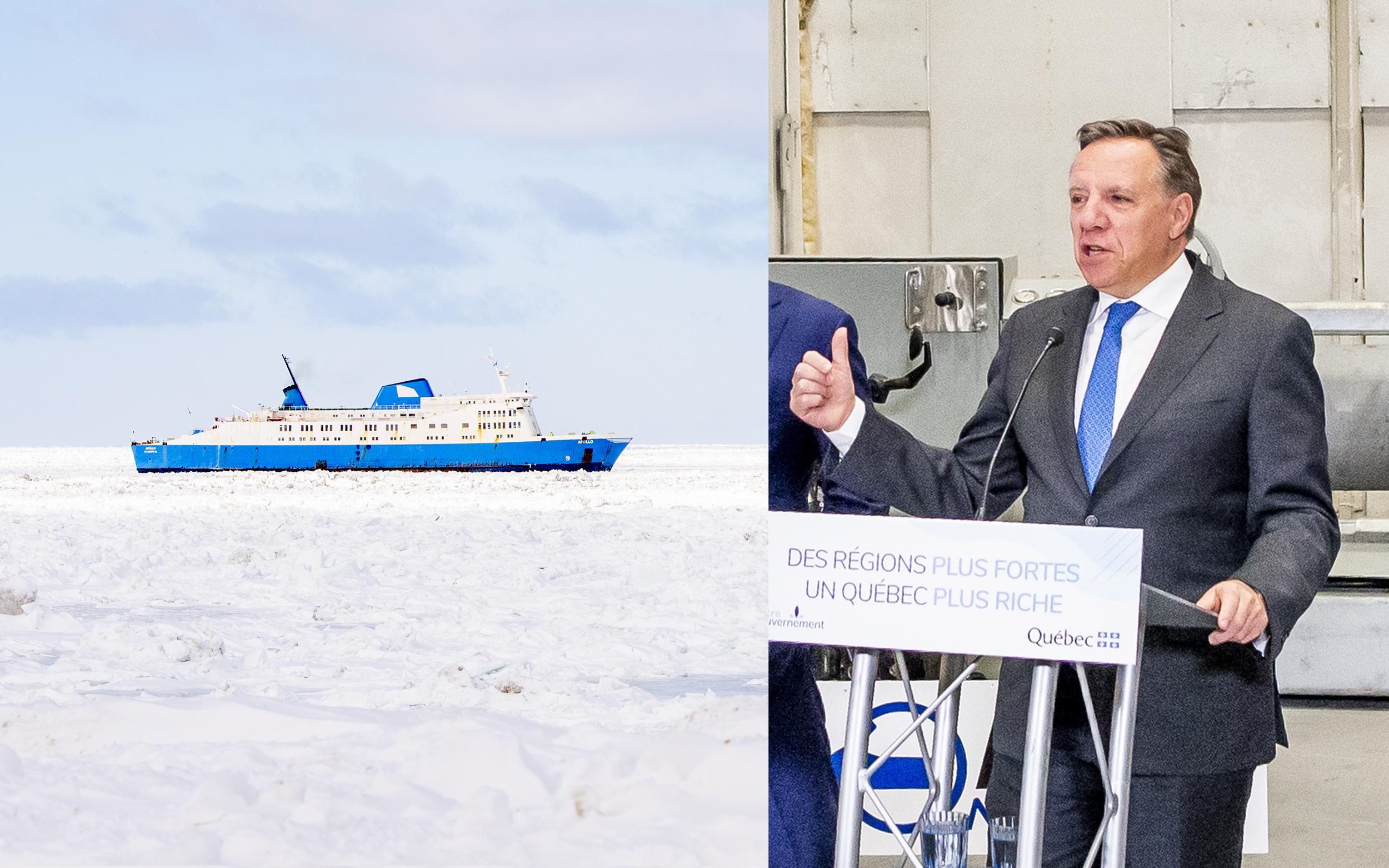 François Legault Société des traversiers du Québec