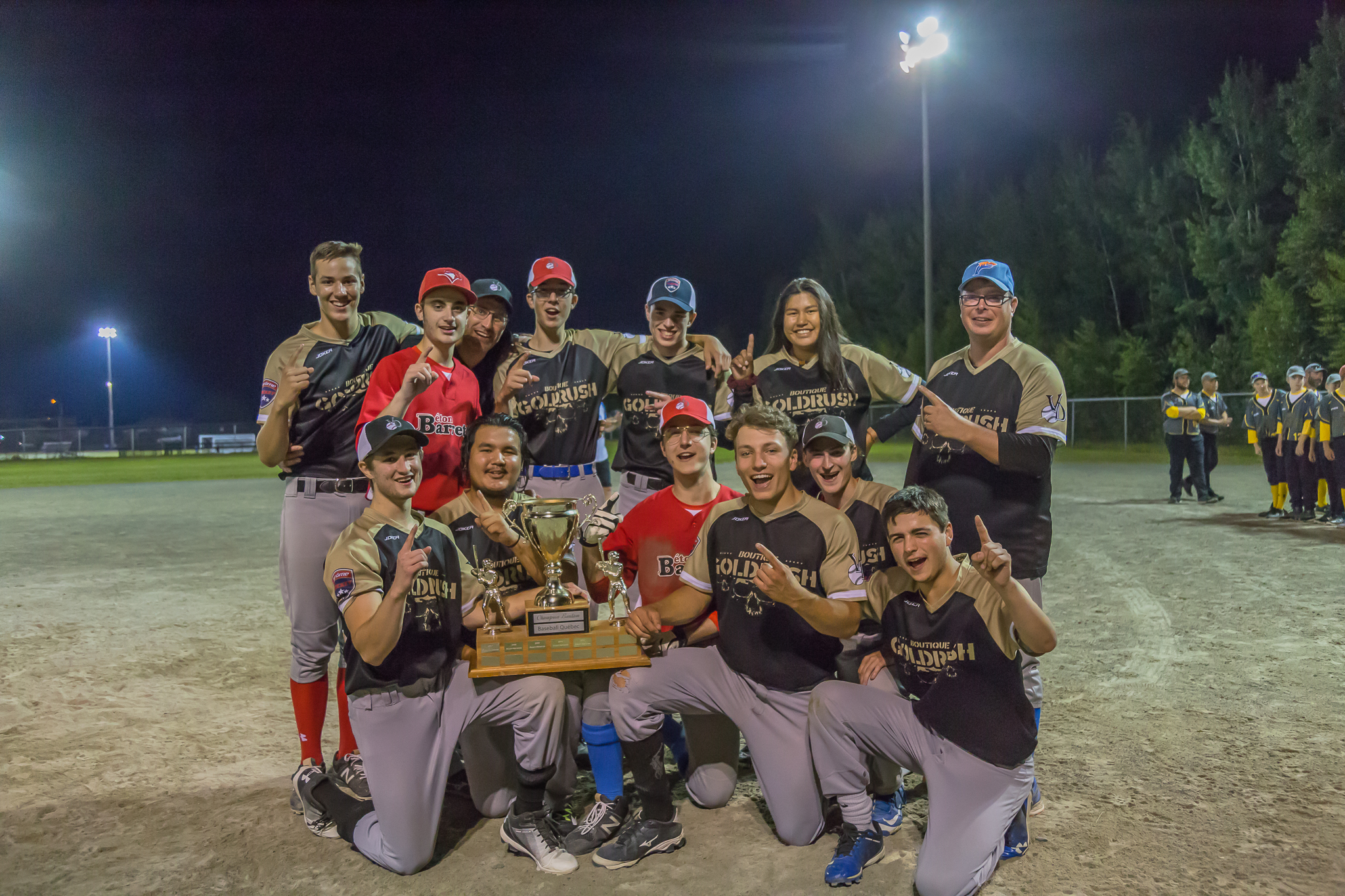 Baseball Val-d'Or - Val-d'Or Midget