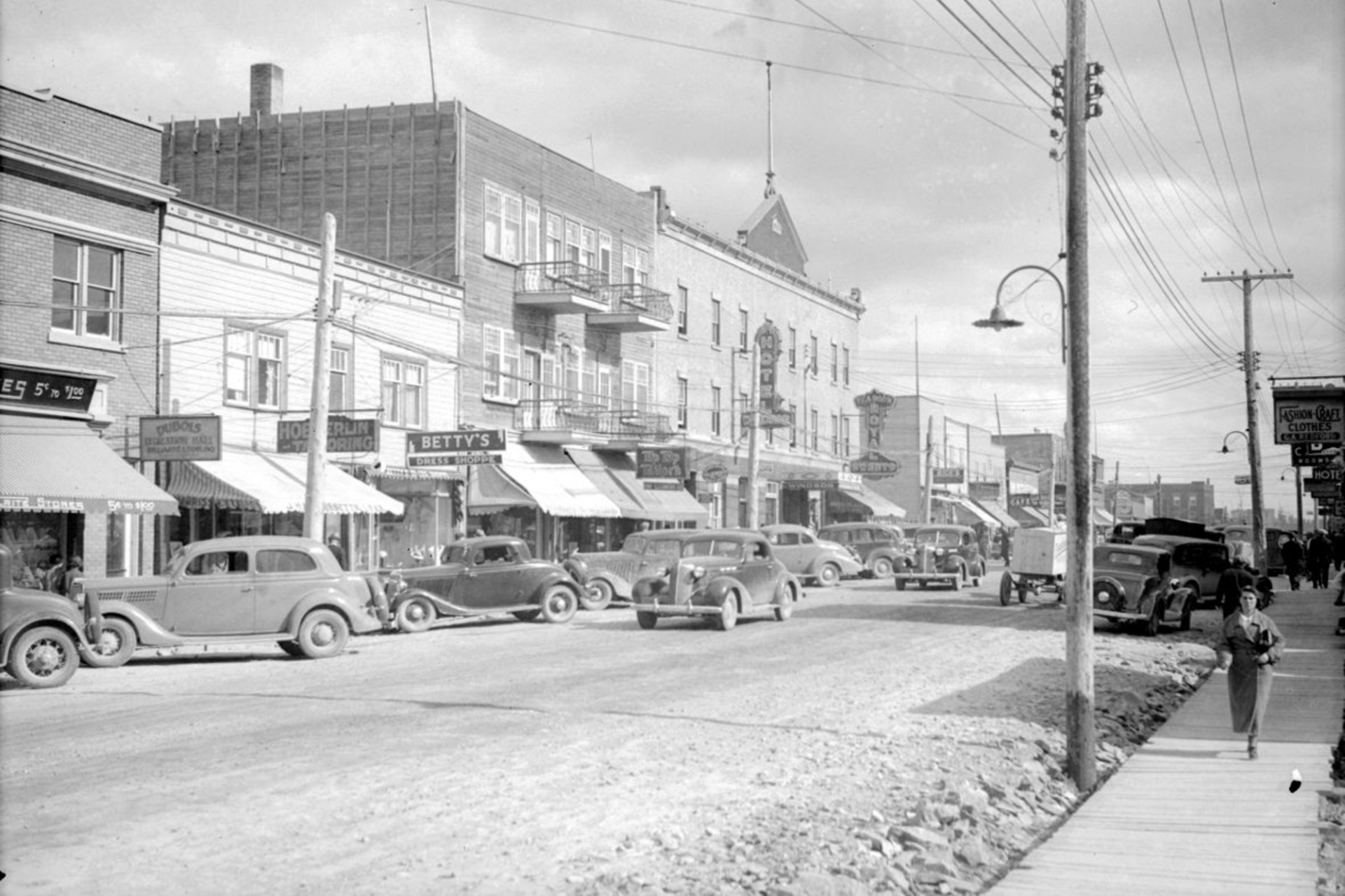 Rouyn_taxe_pavage_1945_1