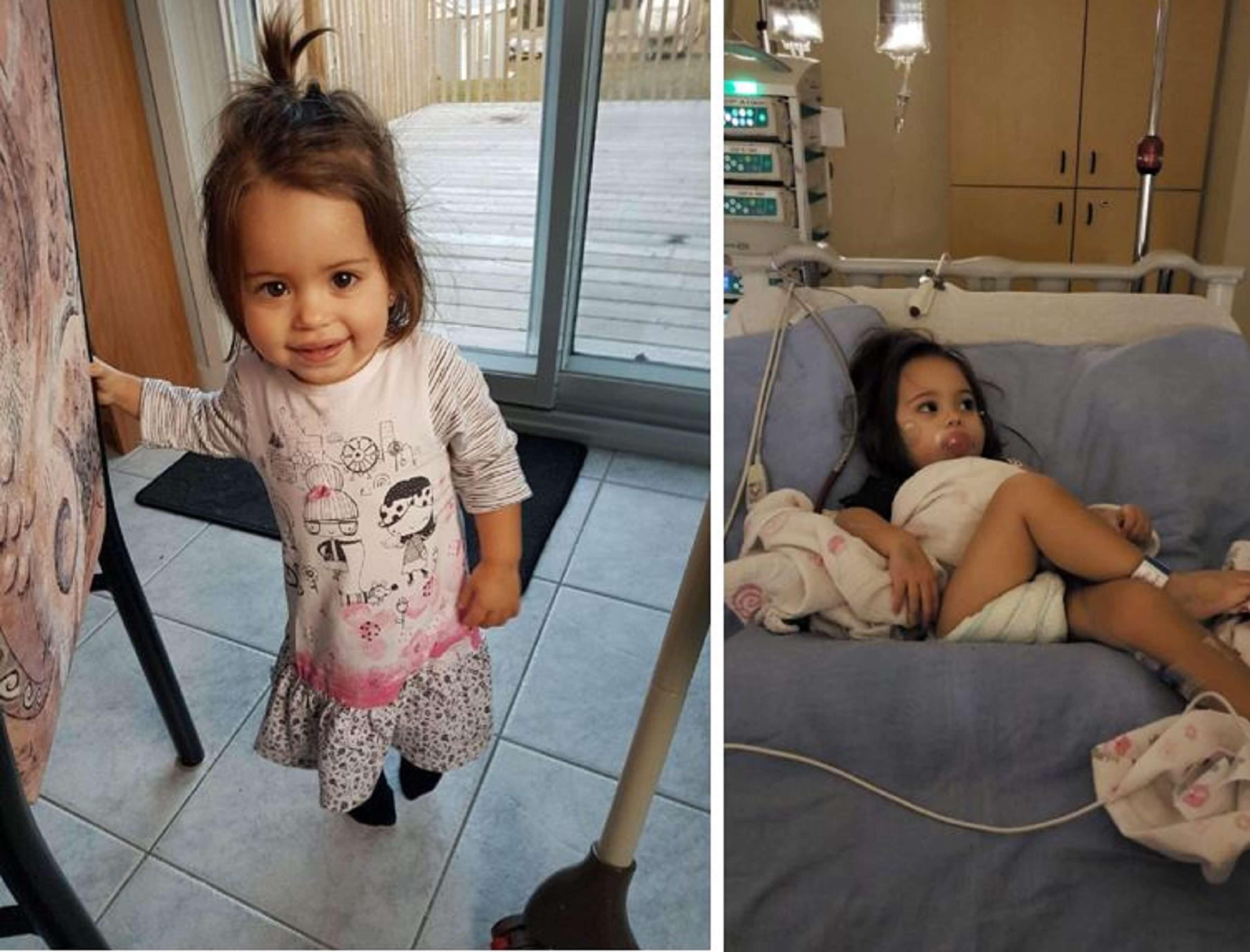 Emma 18 mois mont joli cancer