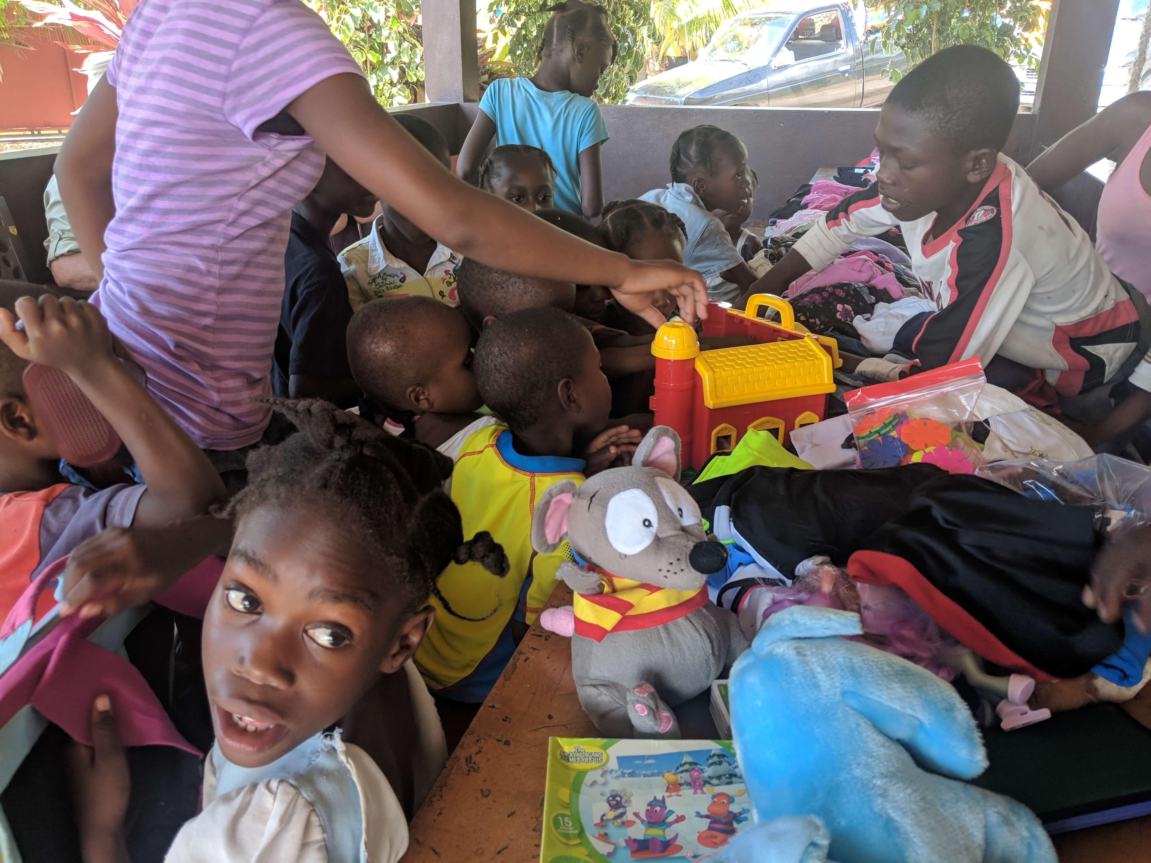 Les petits sourires d'Haïti