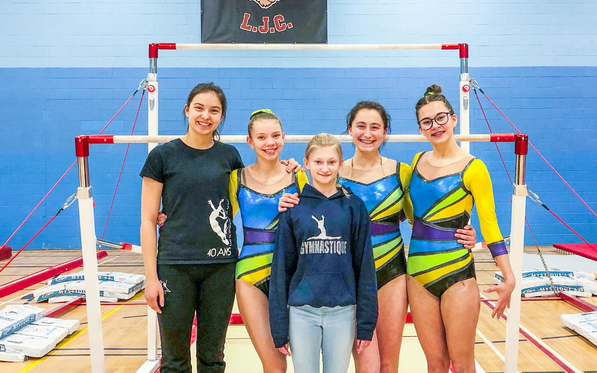 Club Acromat de Matane gymnastique compétition