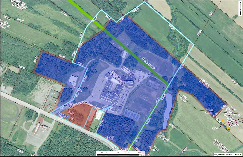 Plan terrains Cégep de Matane