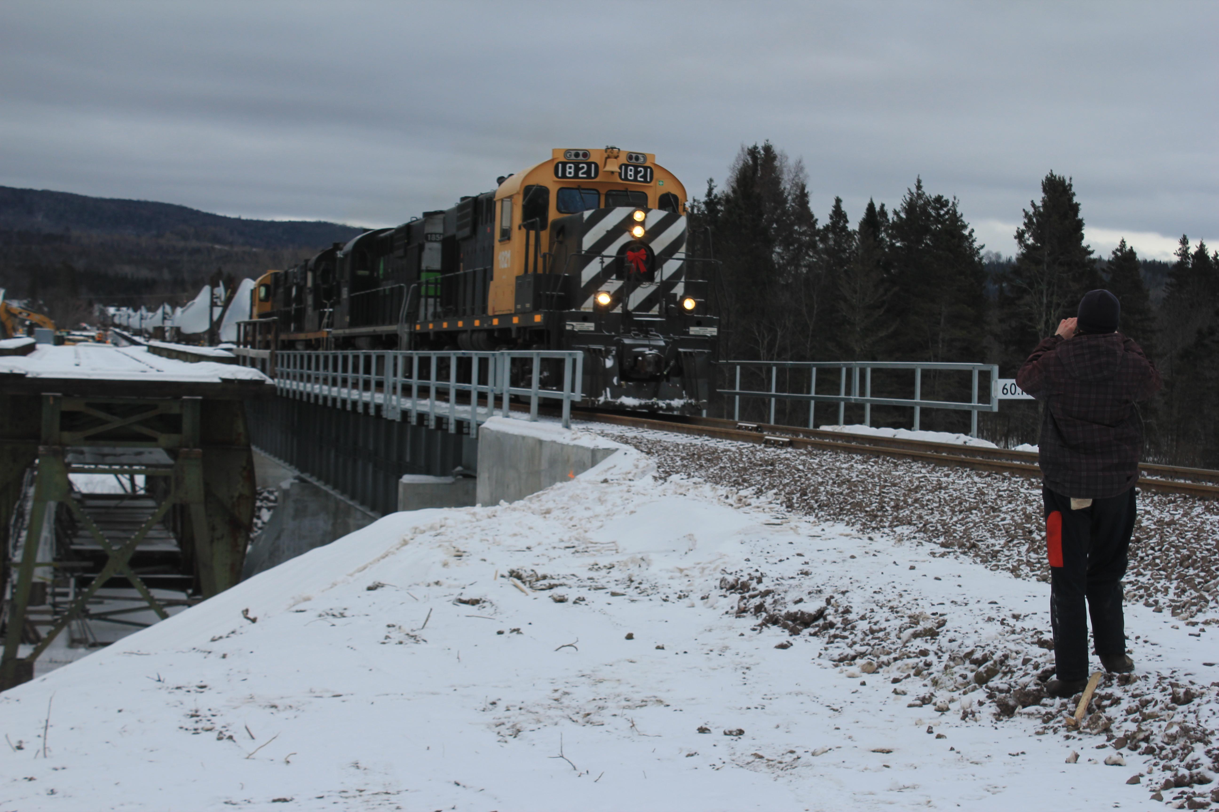 Pont ferroviaire Gaspésie Cascapédia