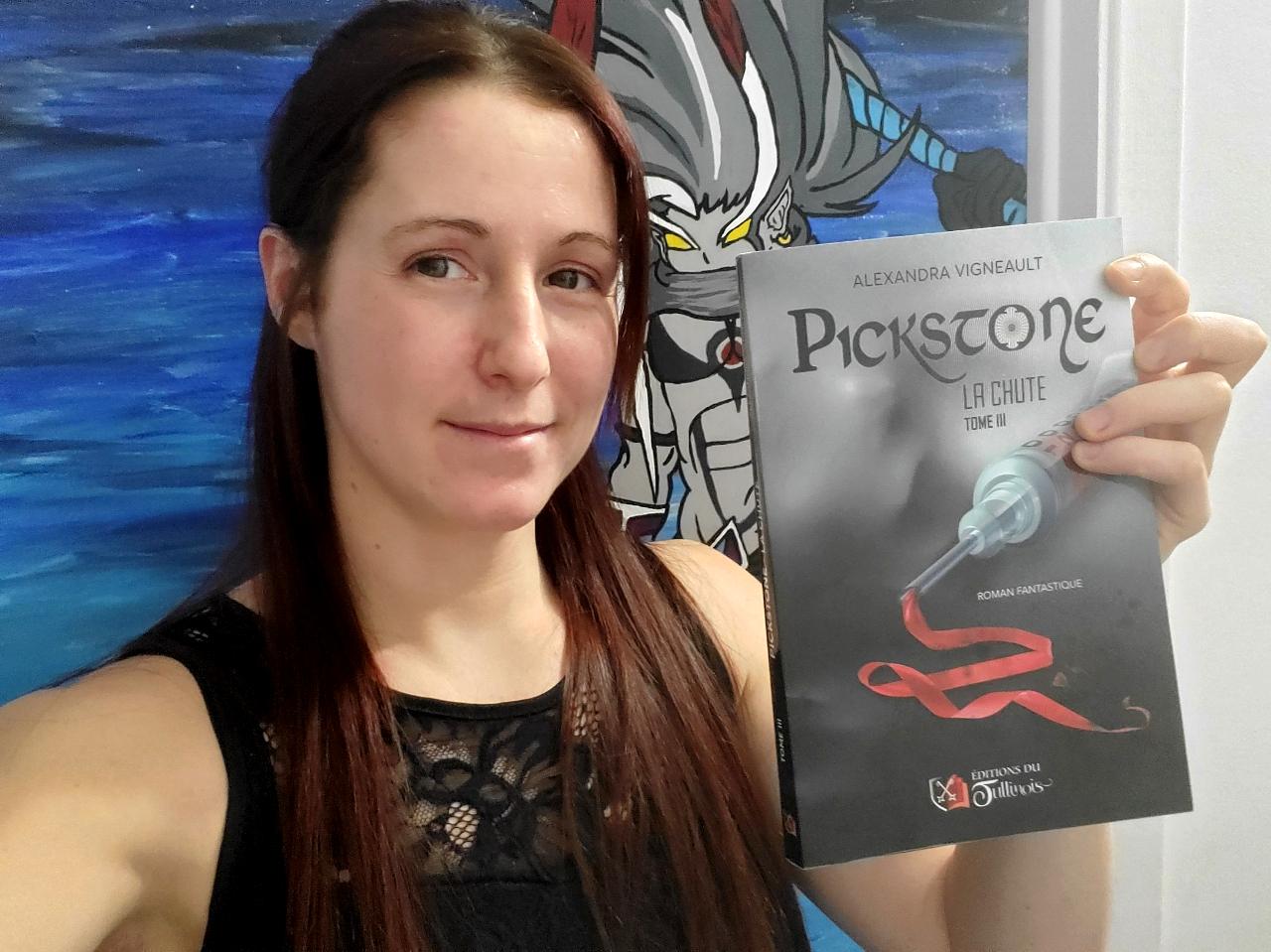 L'auteure rimouskoise Alexandra Vigneault publie le dernier tome de sa trilogie fantastique « Pickstone ».