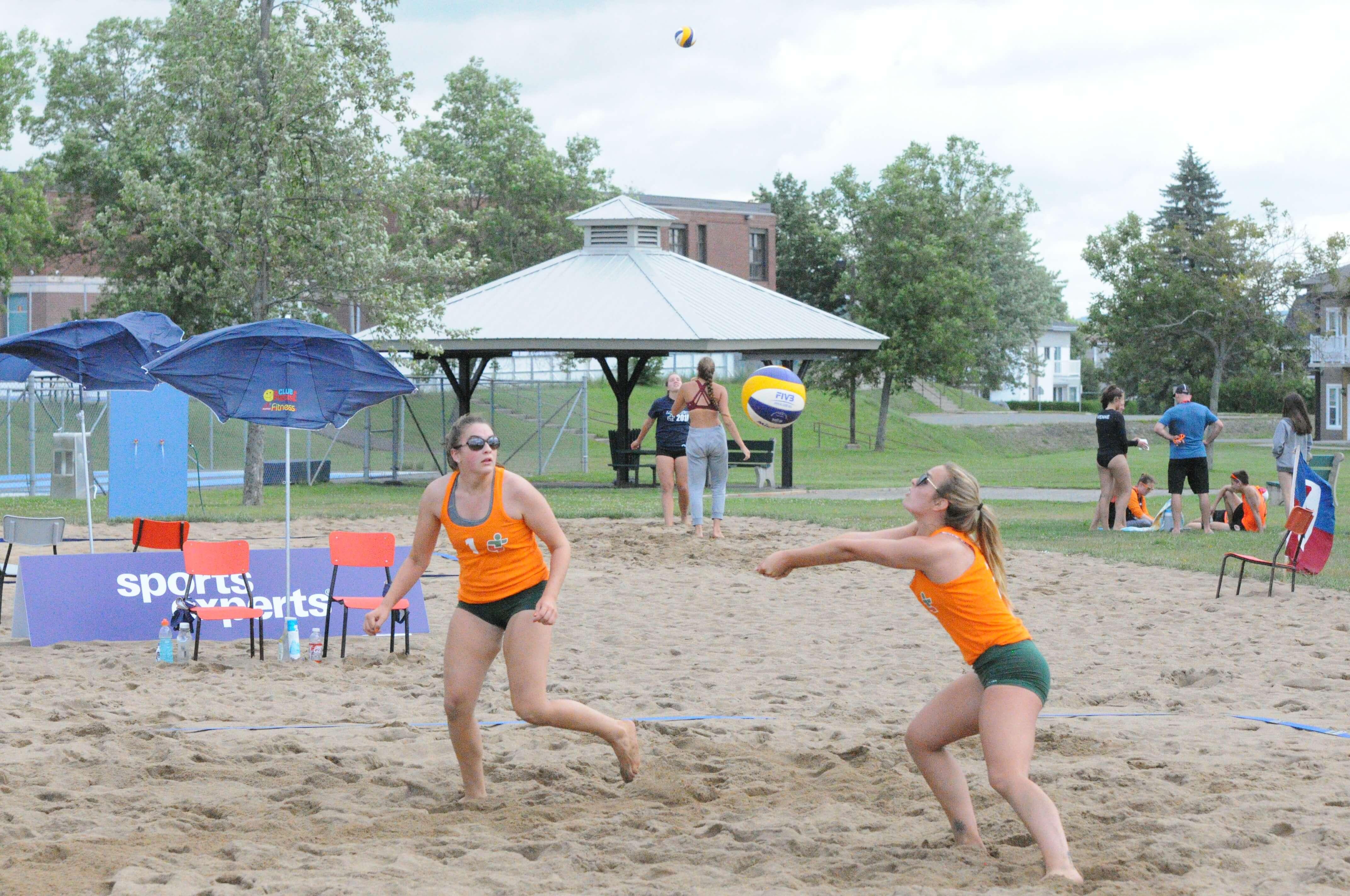 Volley-ball plage - Jeux du Québec 2018