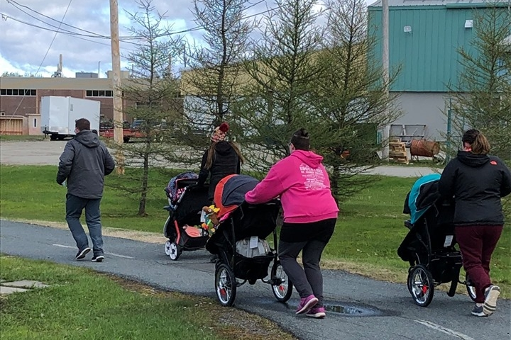 mamans jogging marche participarc la sarre maison des familles