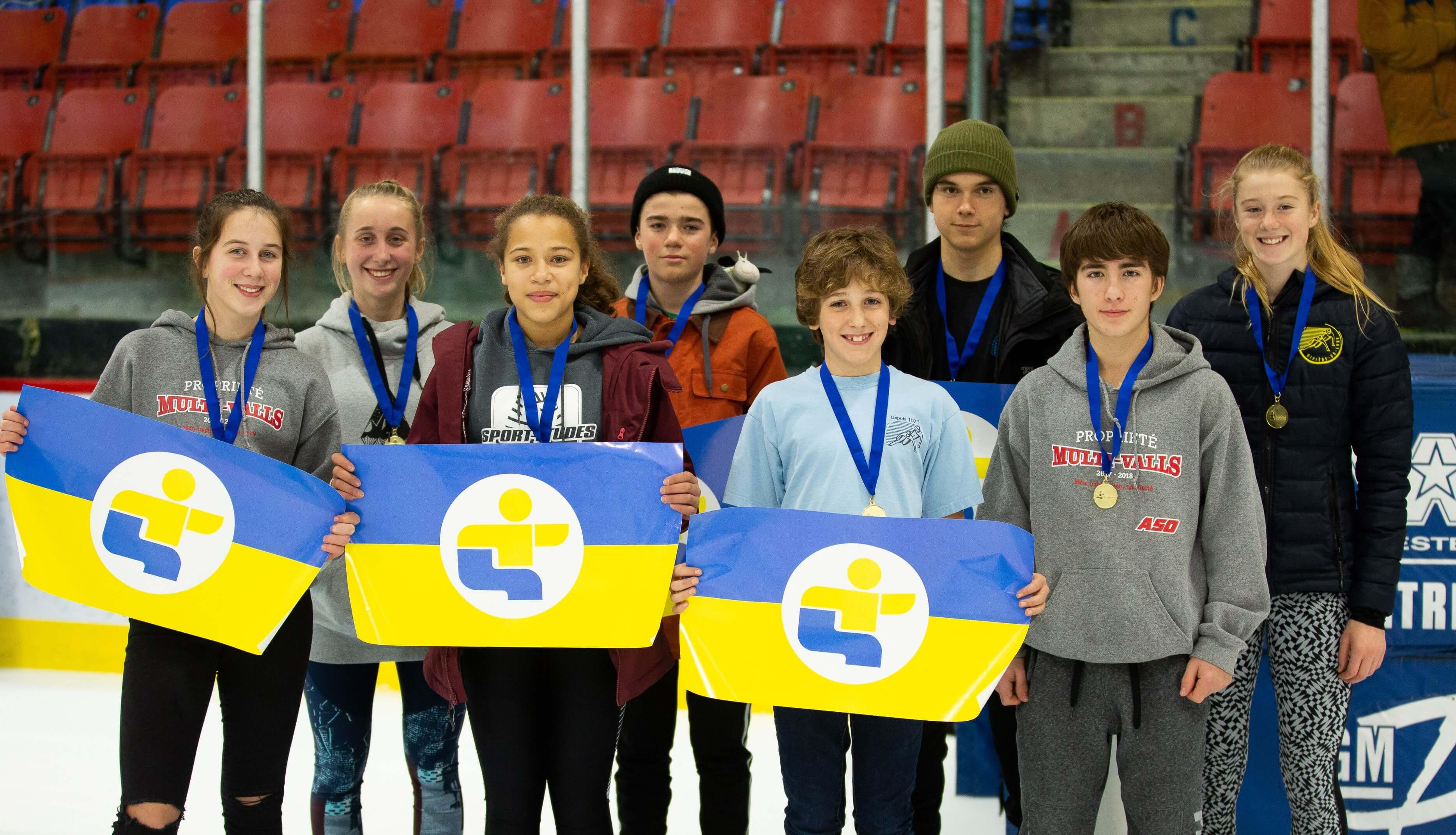 Équipe patinage de vitesse