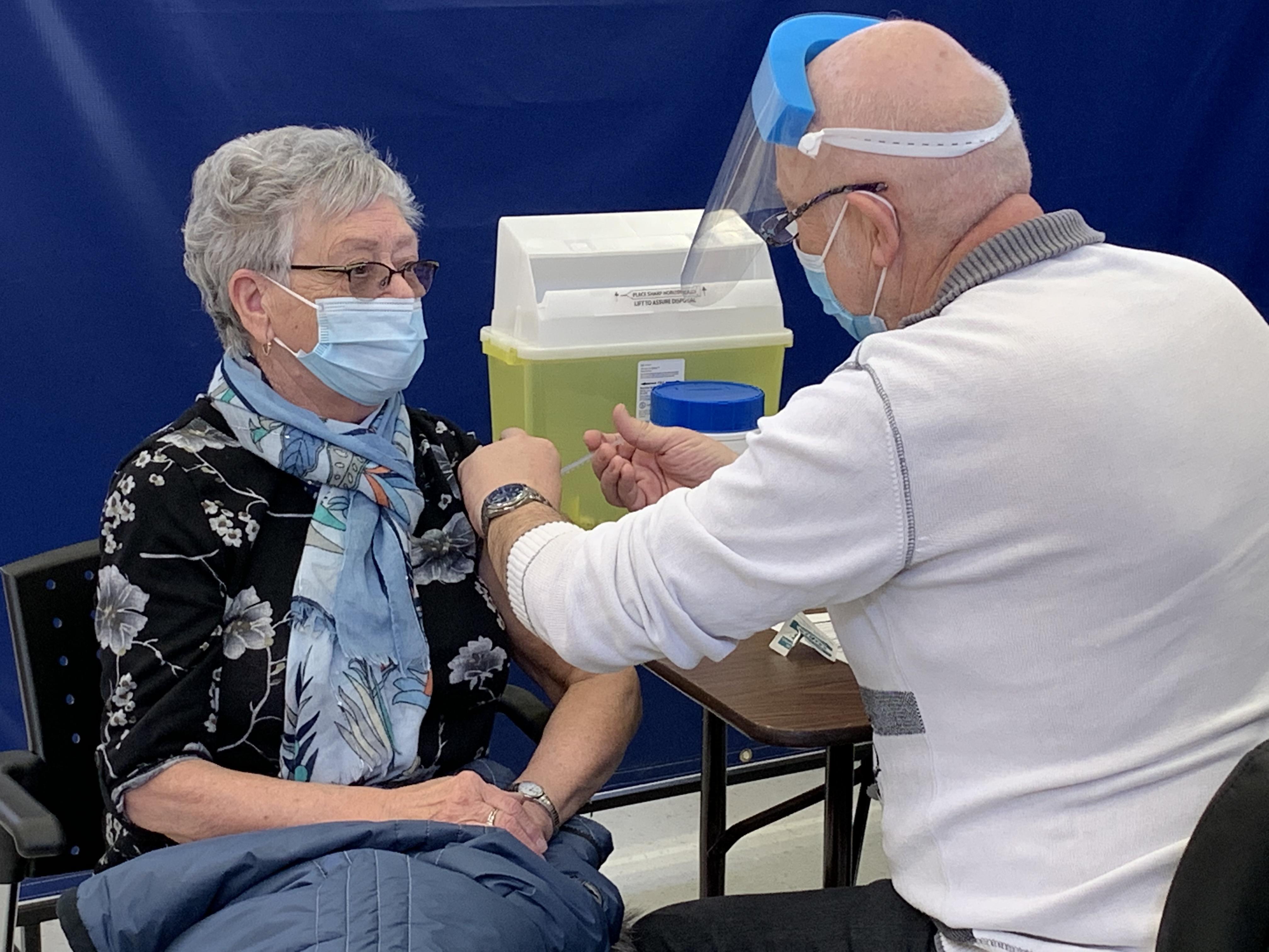Vaccination La Sarre