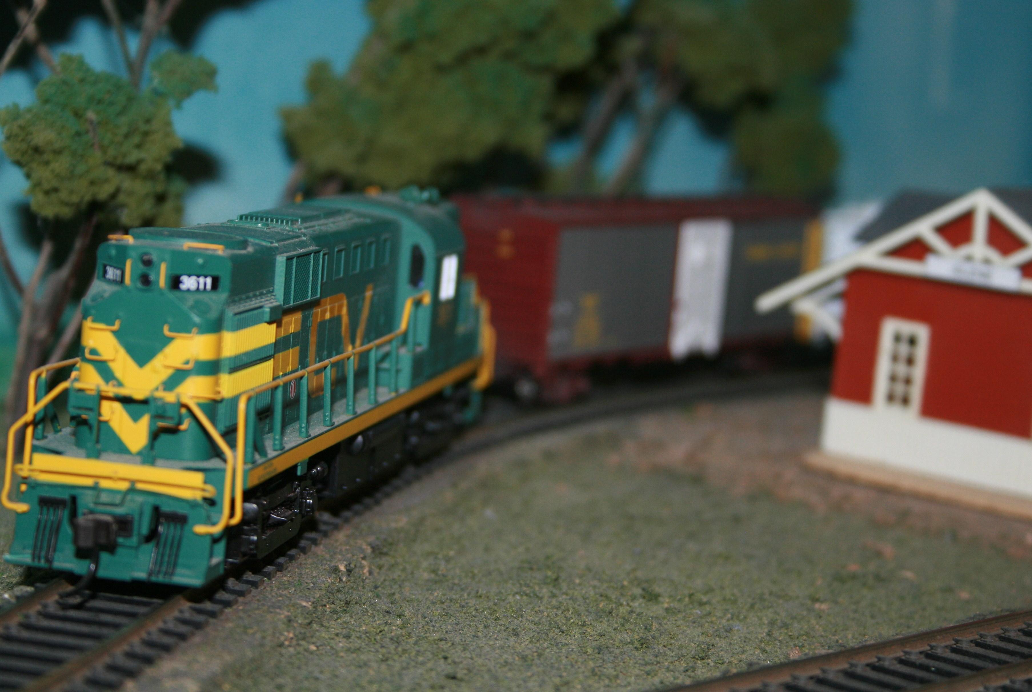 Train aminiature