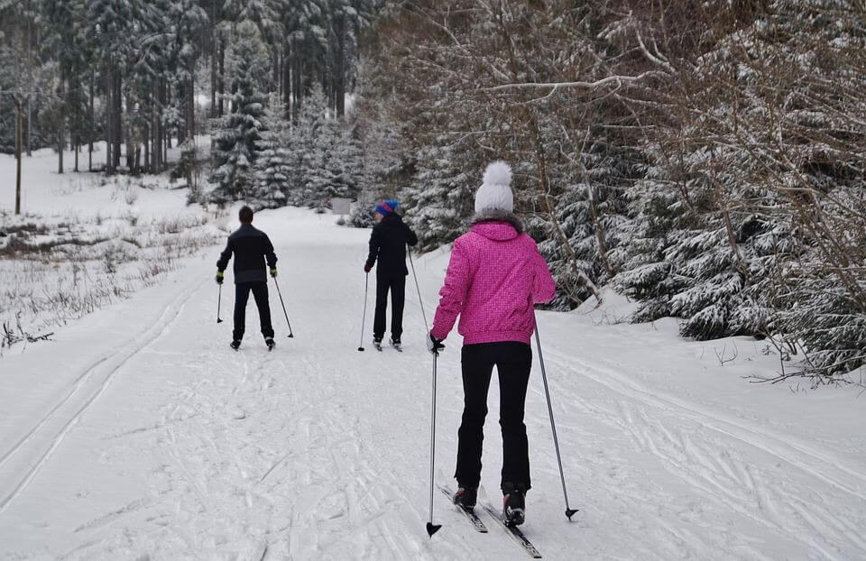 Ski de fond Mélèzière Caplan