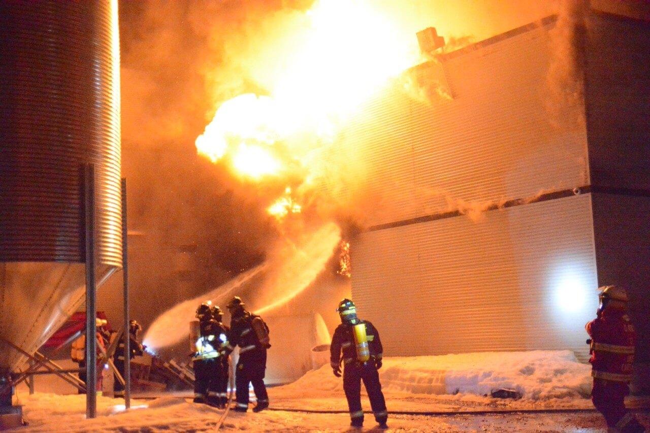 Belgh brasse incendie