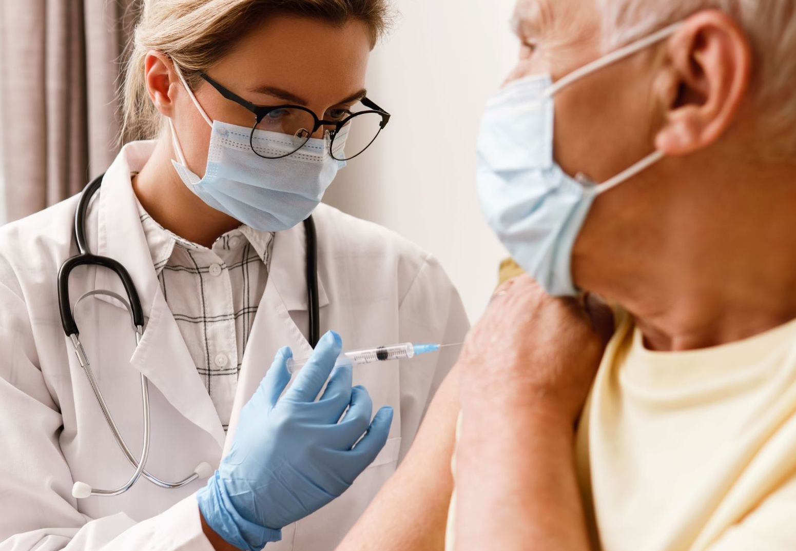 Vaccination aînés réduite