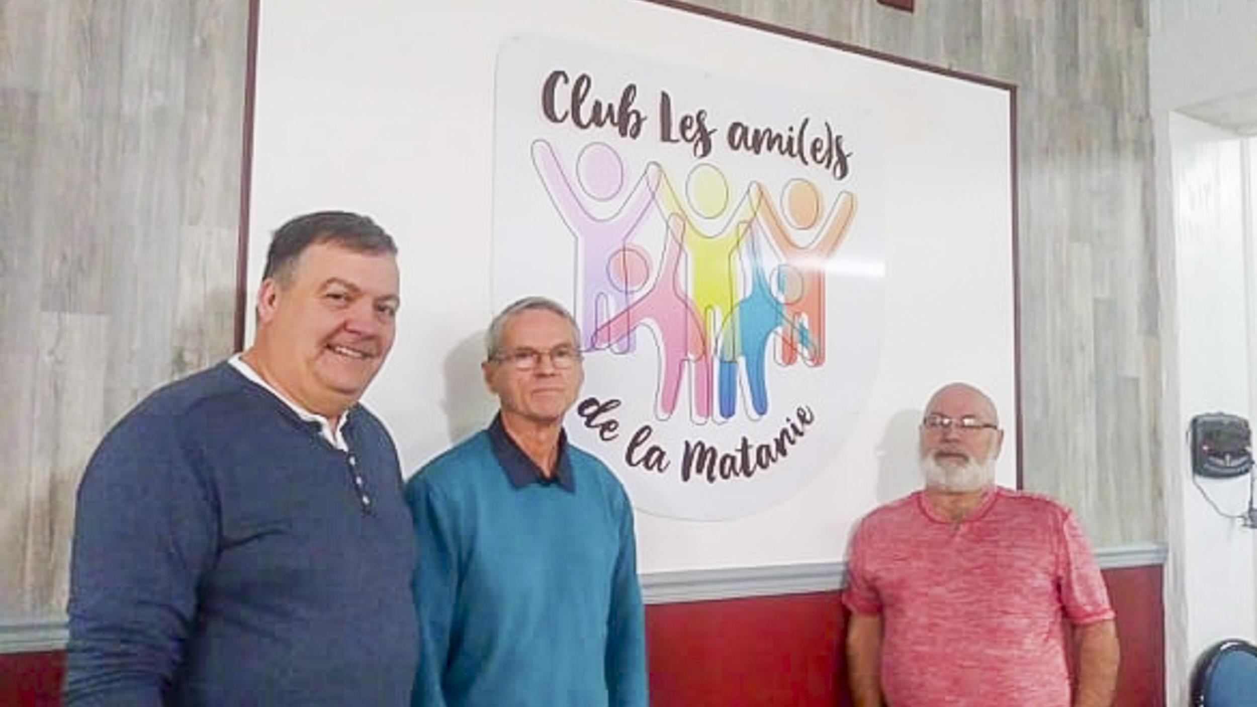 Fondateurs club Les Ami(e)s de la Matanie