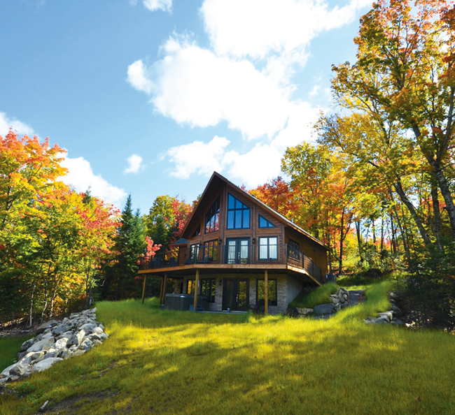 Lac walfred chalet