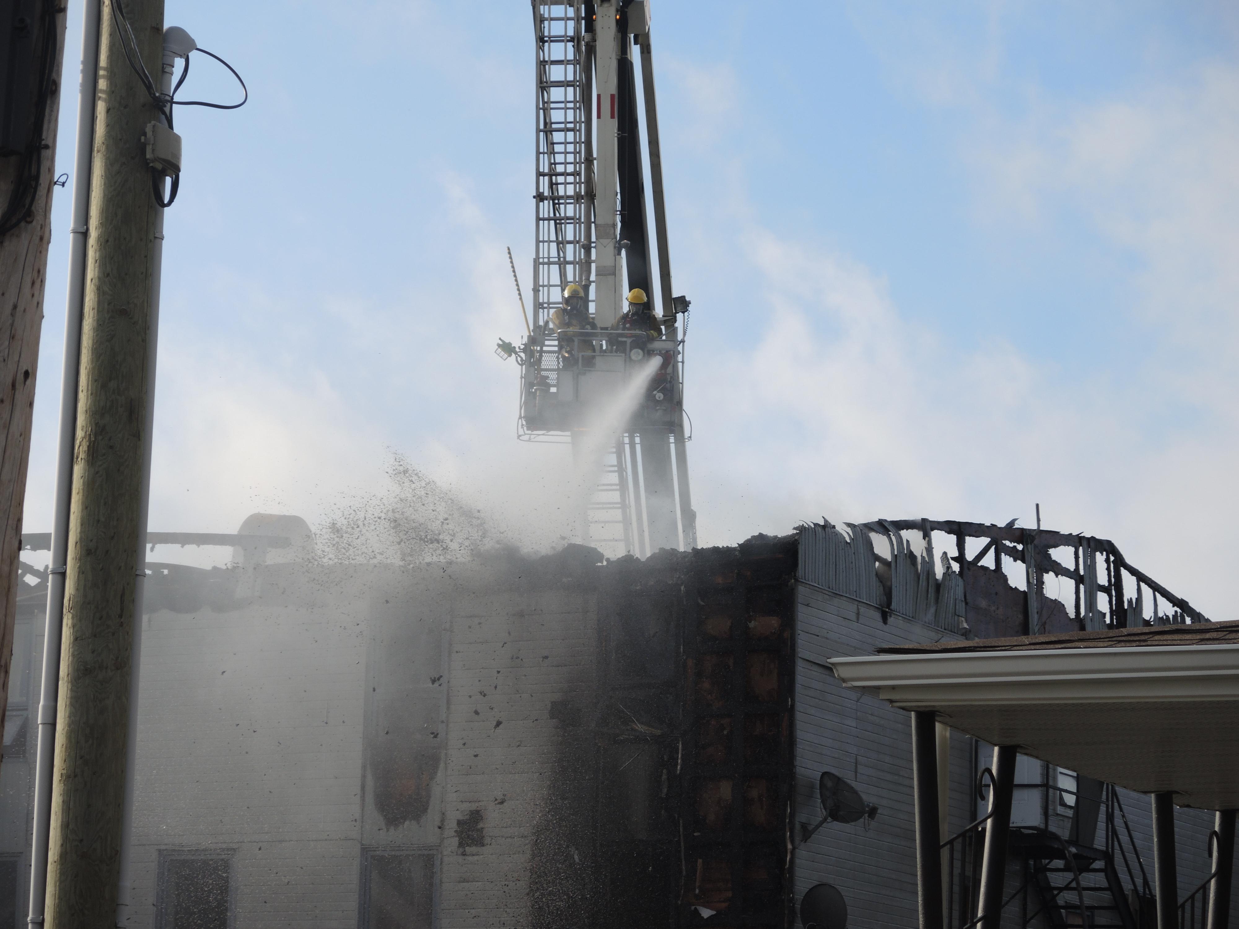 Incendie Rouyn-Noranda 28 août 2