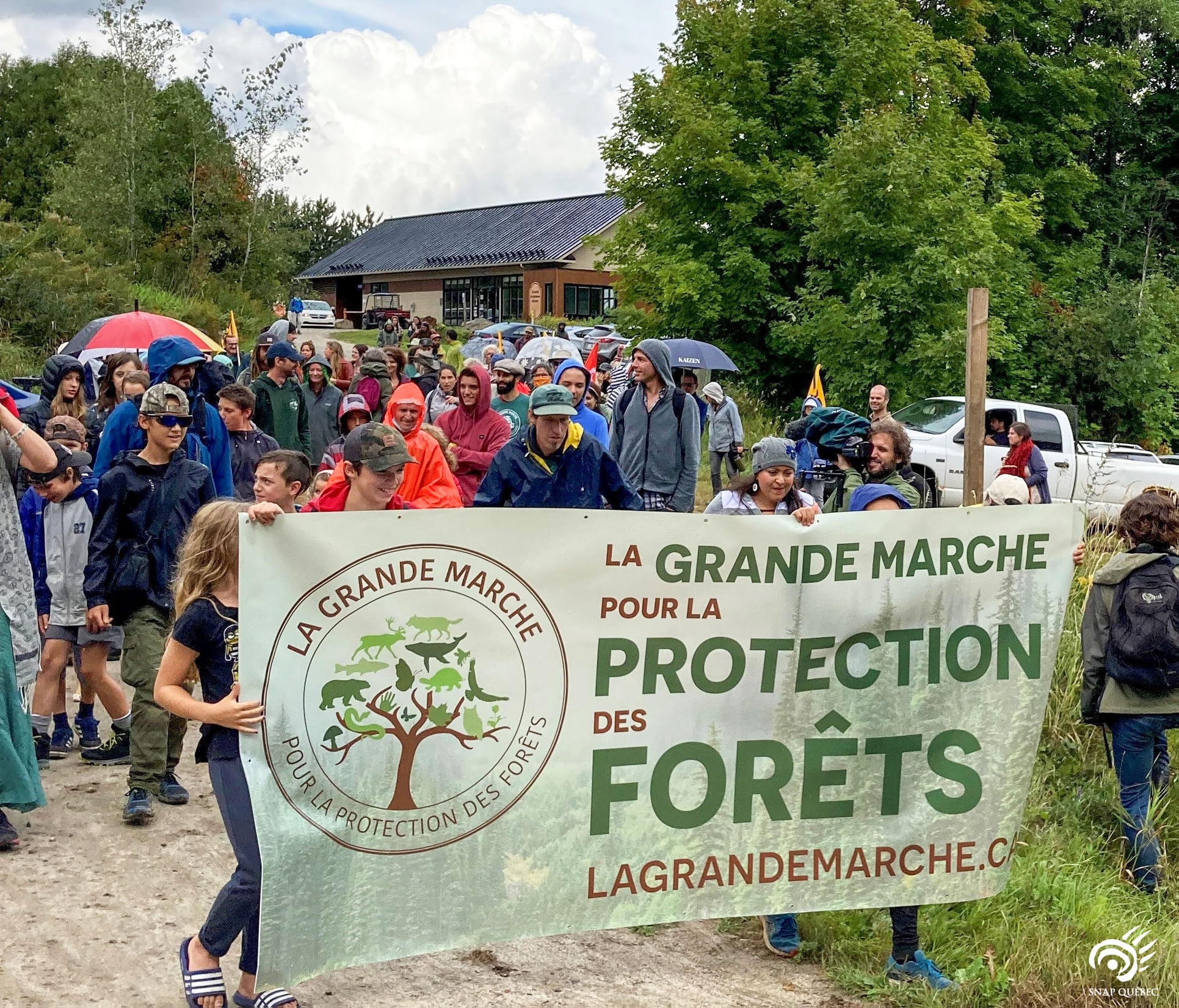 Grande marche protection des forêts