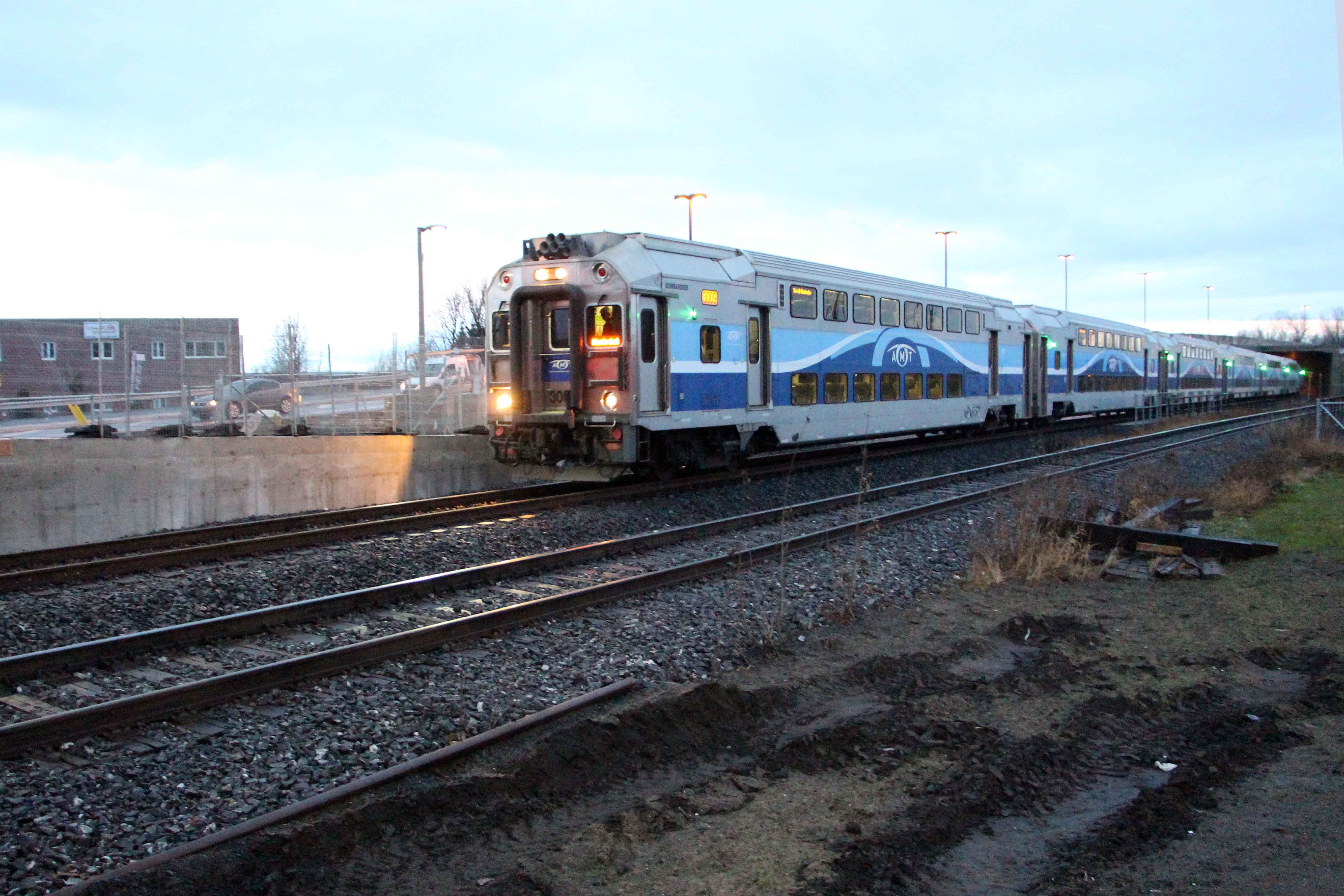 Train de l'est