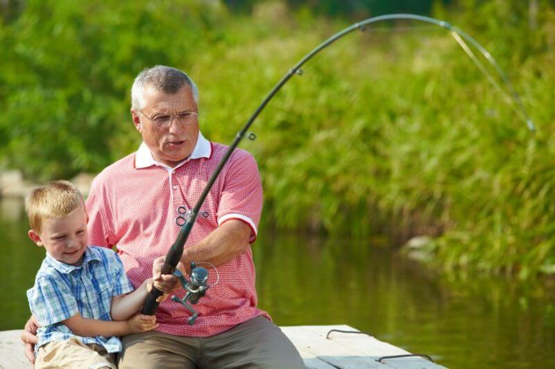 Activité de plein air - pêche