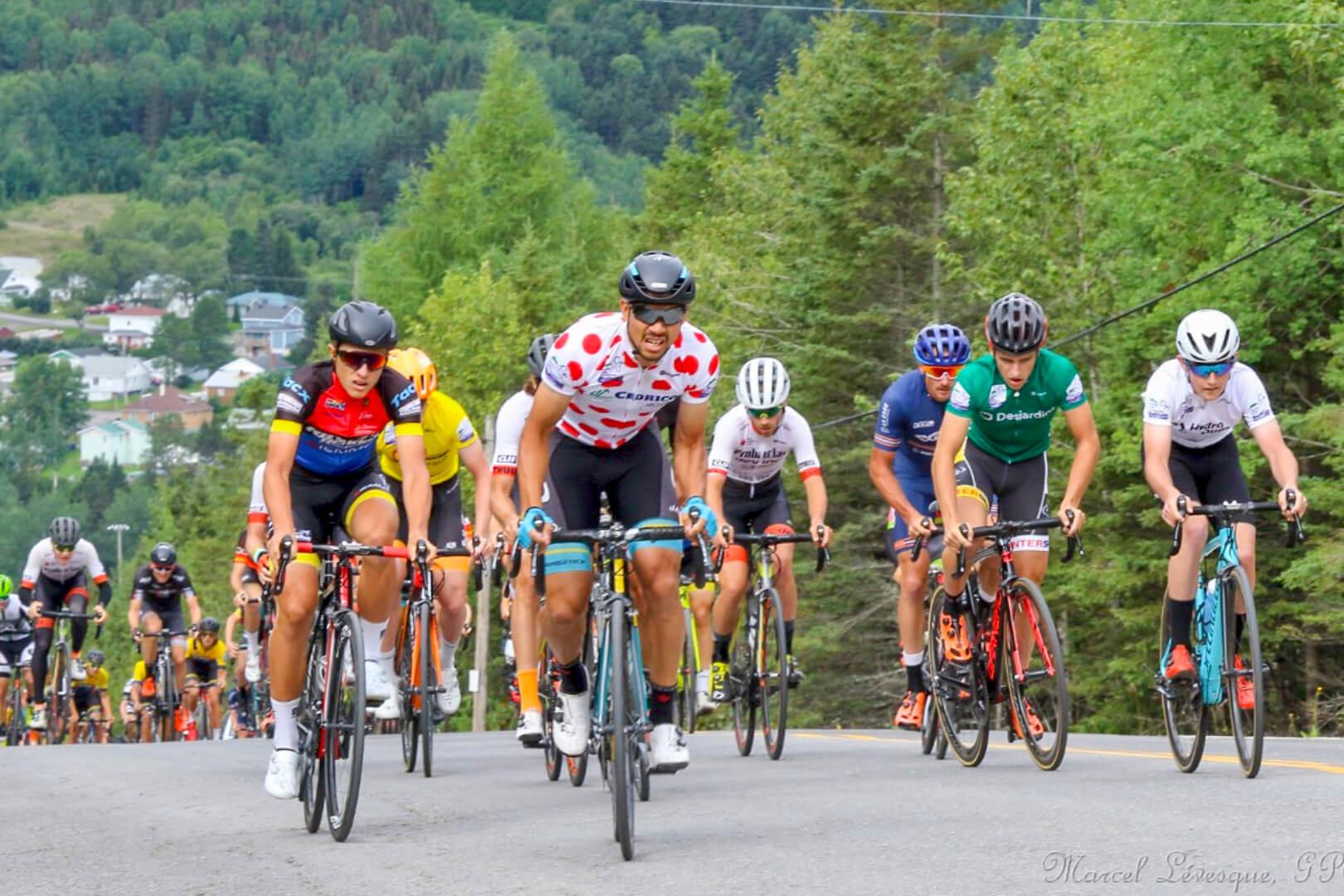 Le Grand Prix cycliste de la Matapédia attire plus de coureurs