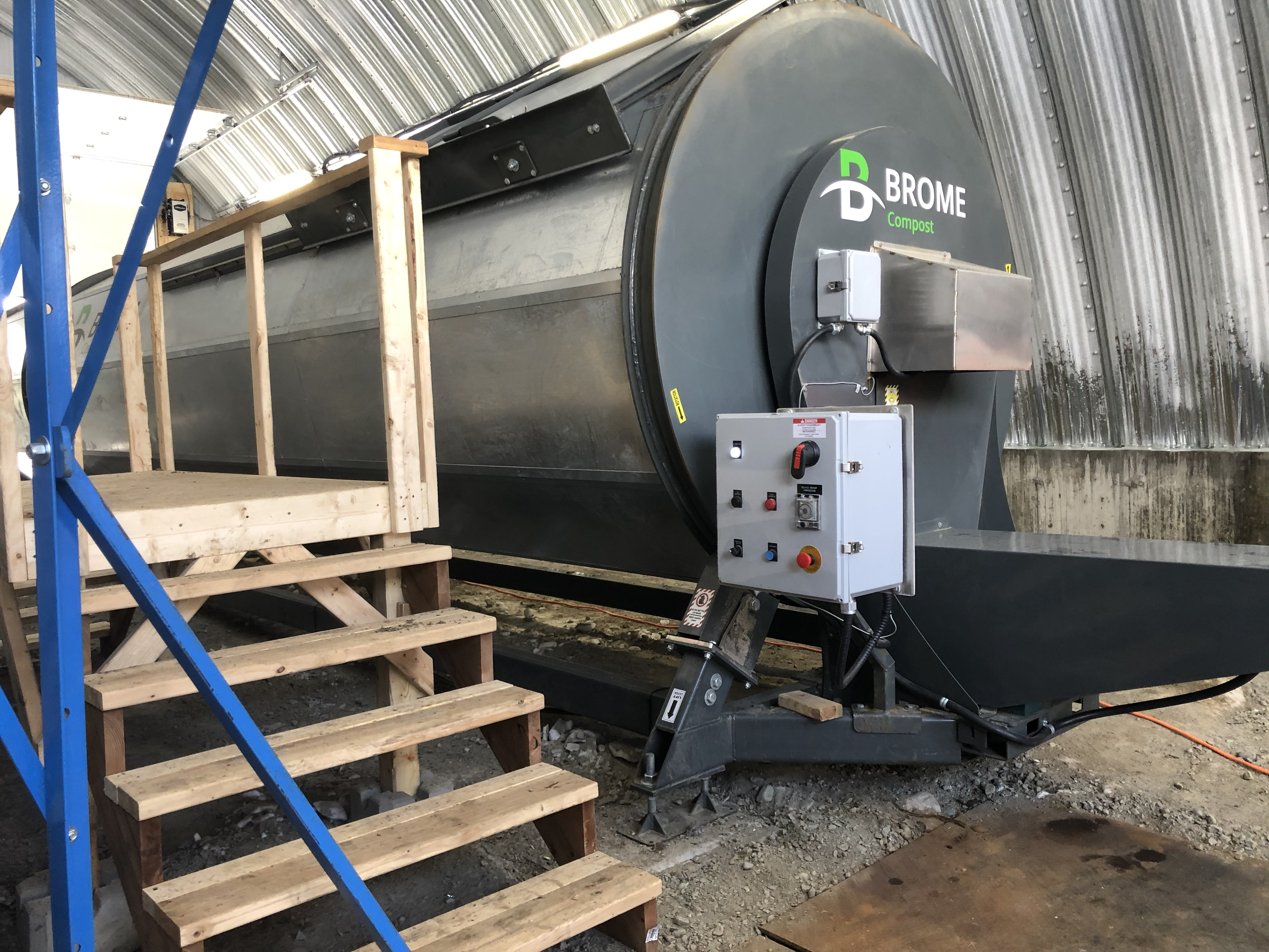 Composteur thermique fermé Landrienne