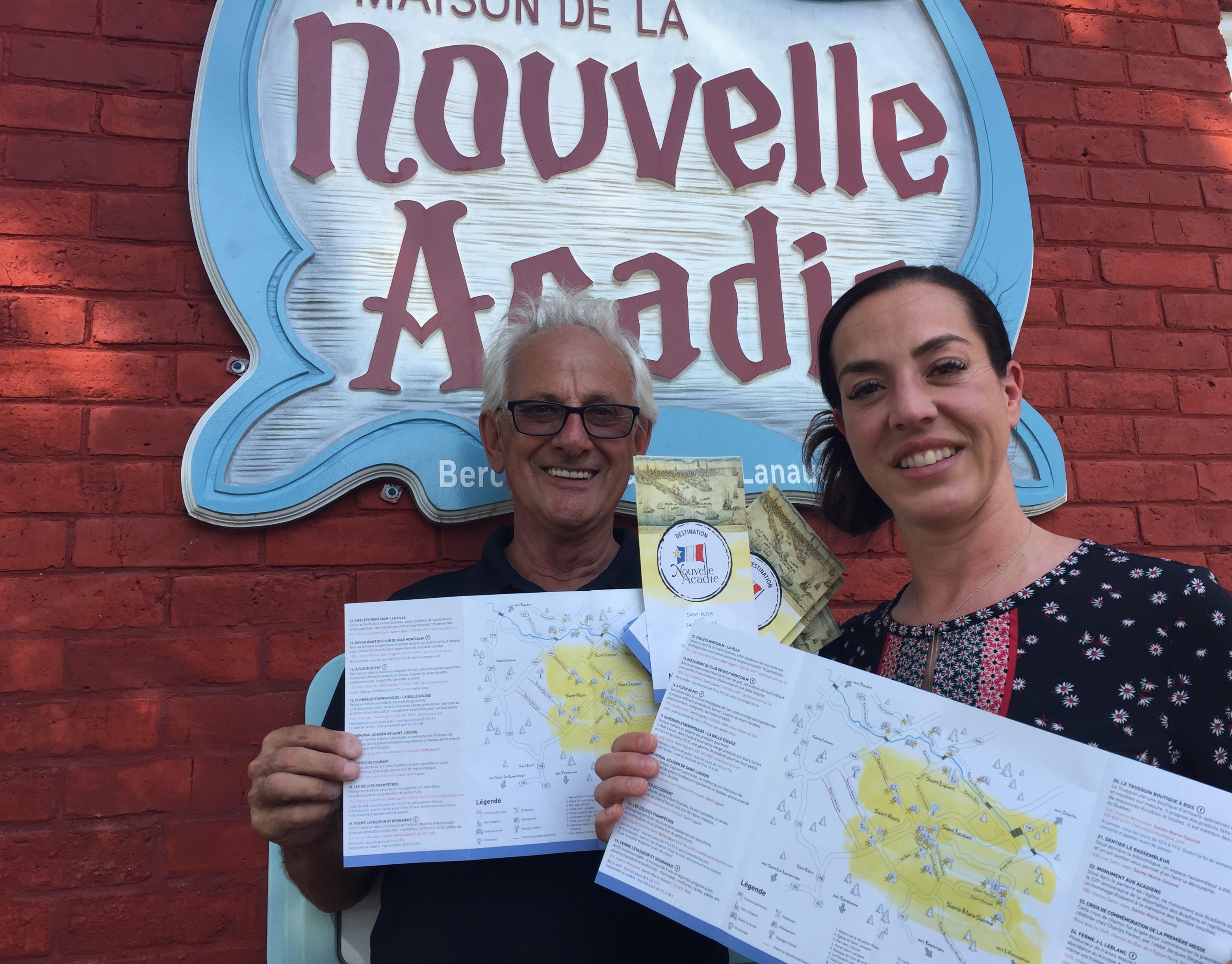 Dépliant Destination Nouvelle-Acadie